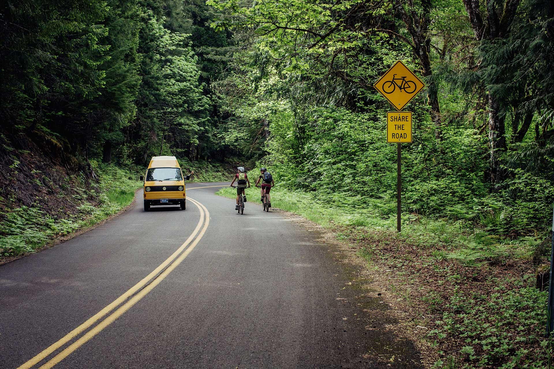 vanlife fotograf roadtrip road fahrrad oregon vw bus deutschland