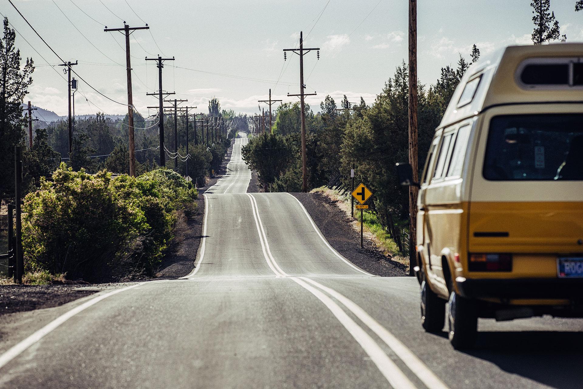 vanlife fotograf roadtrip road oregon vw bus zuerich schweiz