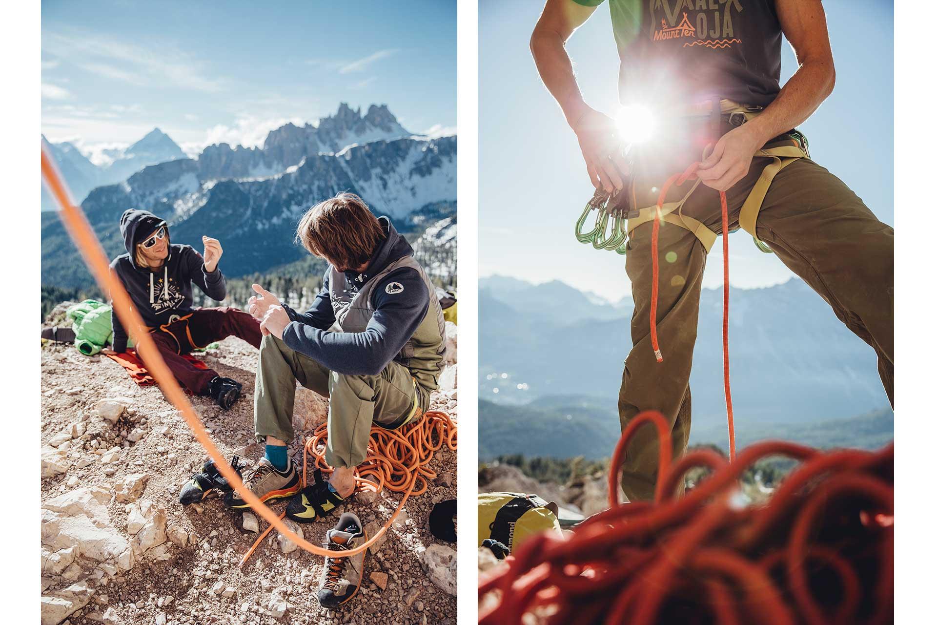 Sport Klettern Fotograf Outdoor Katalog Frankfurt Europa Michael Müller