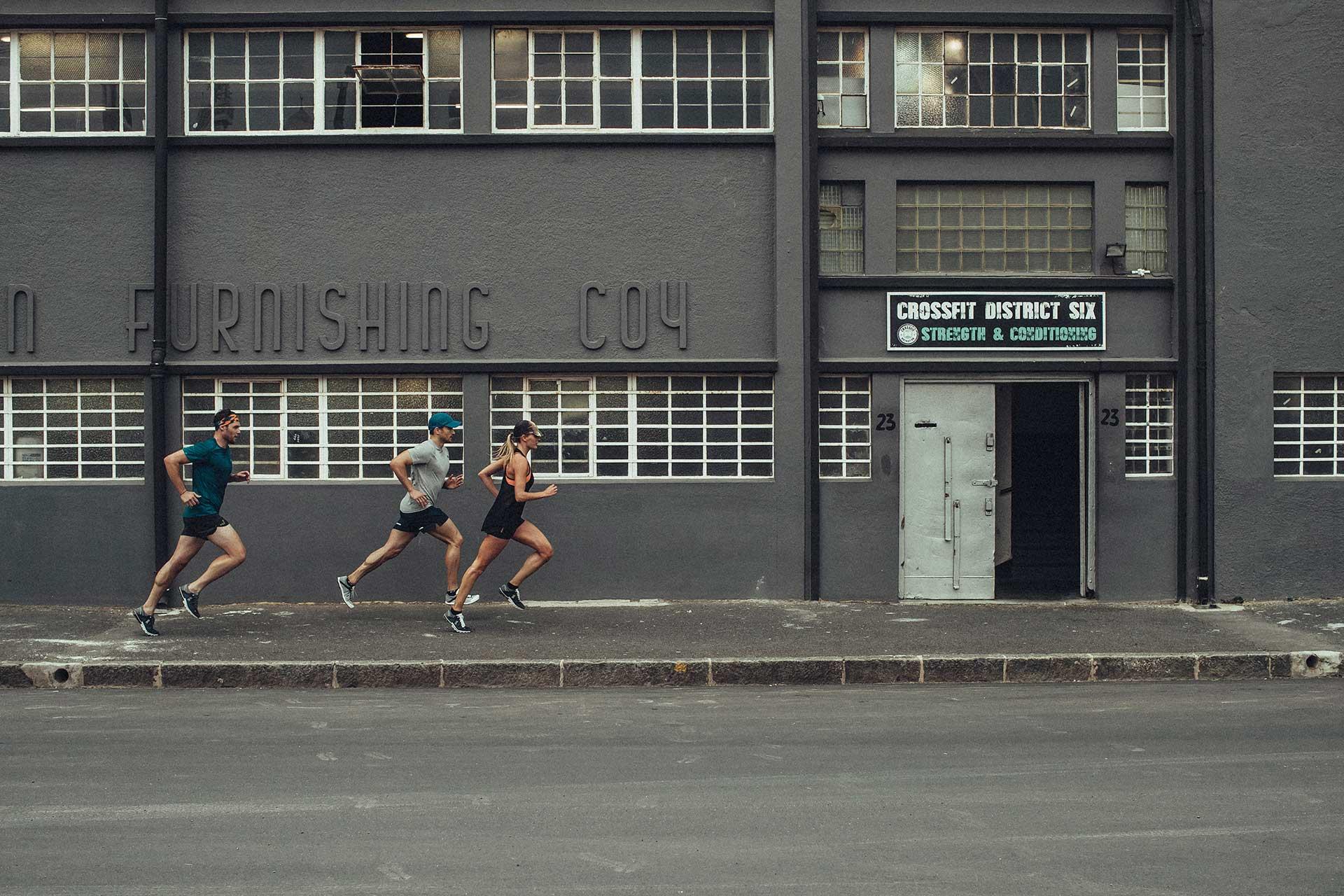 Teamsport Running sport Urban Düsseldorf Deutschland Fotograf Werbung