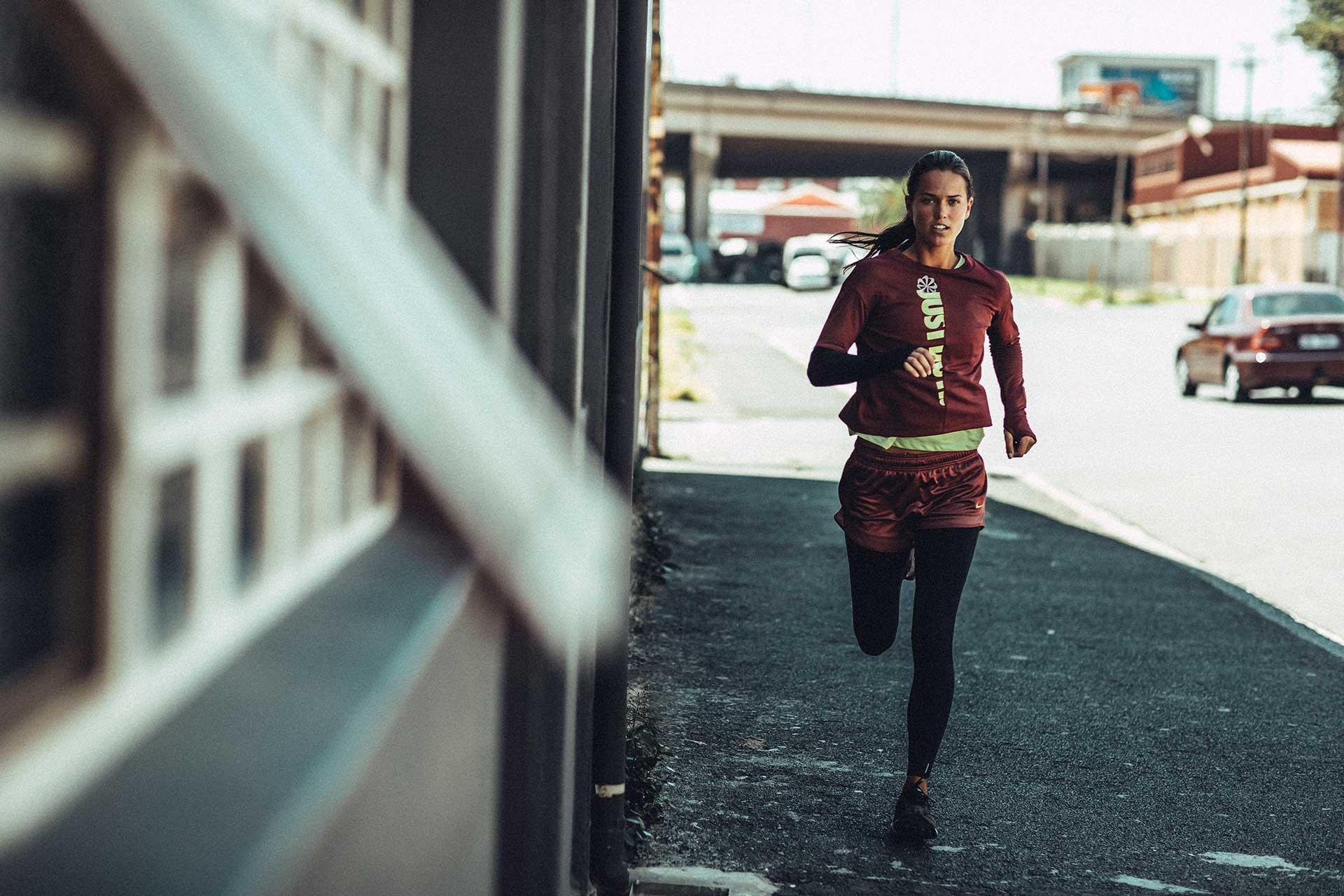 Dynafit Sport Bekleidung Running Urban Woodstock Kapstadt Michael Müller