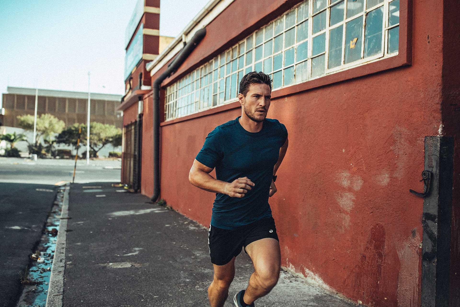 Running Fotograf Stadt Urban Sport Fitness Kapstadt Südafrika