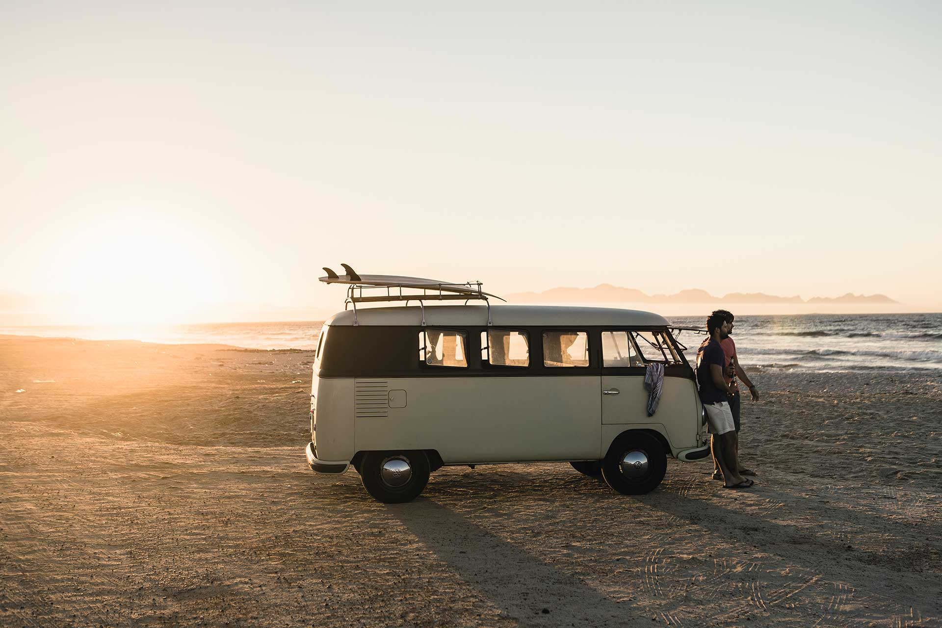 Vanlife Camping Lifestyle People Fotograf Fotoproduktion Outdoor Strand London