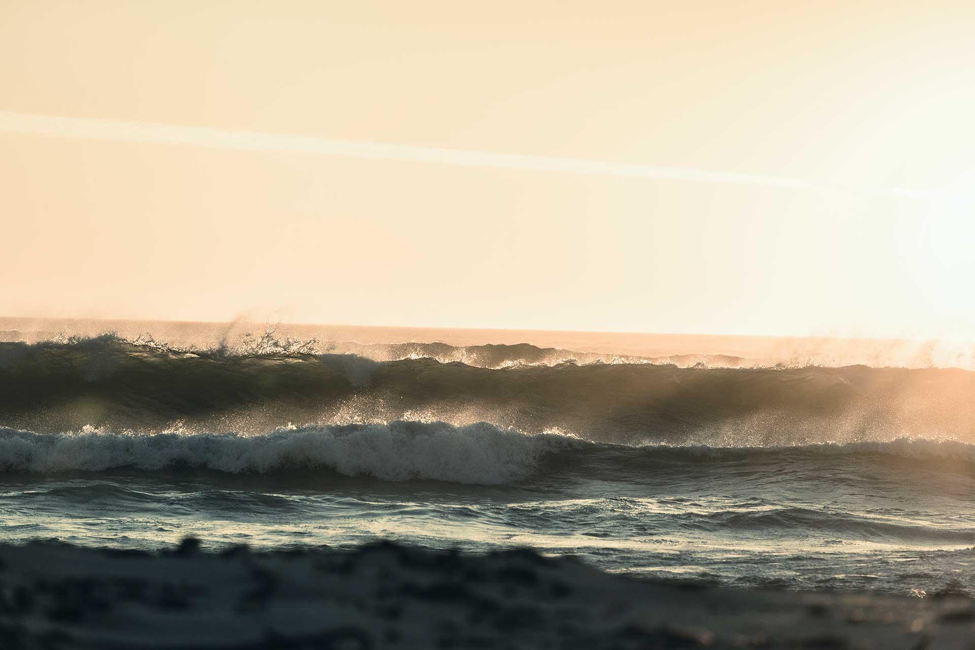 Meer Landschaft Strand Fotograf Sonnenuntergang Kapstadt Südafrika