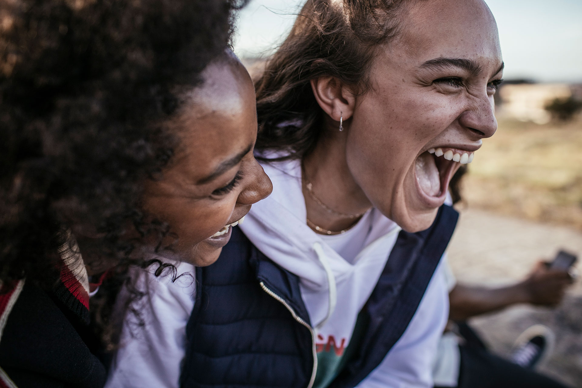 Girls Lachen Fotograf People Lifestyle Fotoproduktion Michael Müller London UK