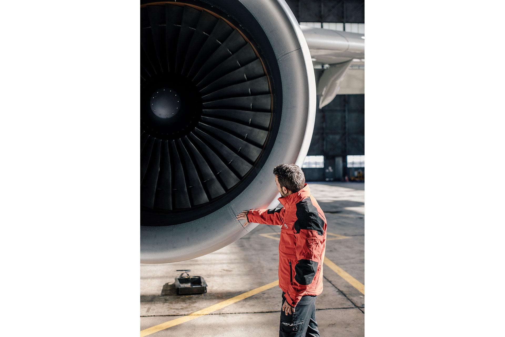 Industriefotograf Werbung Michael Müller Iberia People Fotoproduktion Frankfurt Flughafen