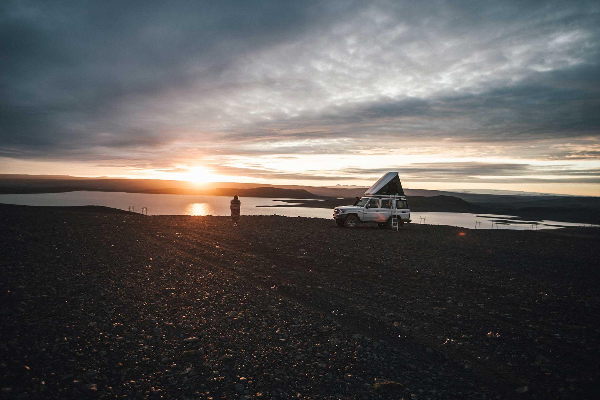 Fotoproduktion Landcruiser Travel Vanlife Camping Island Engelhorn Michael Müller