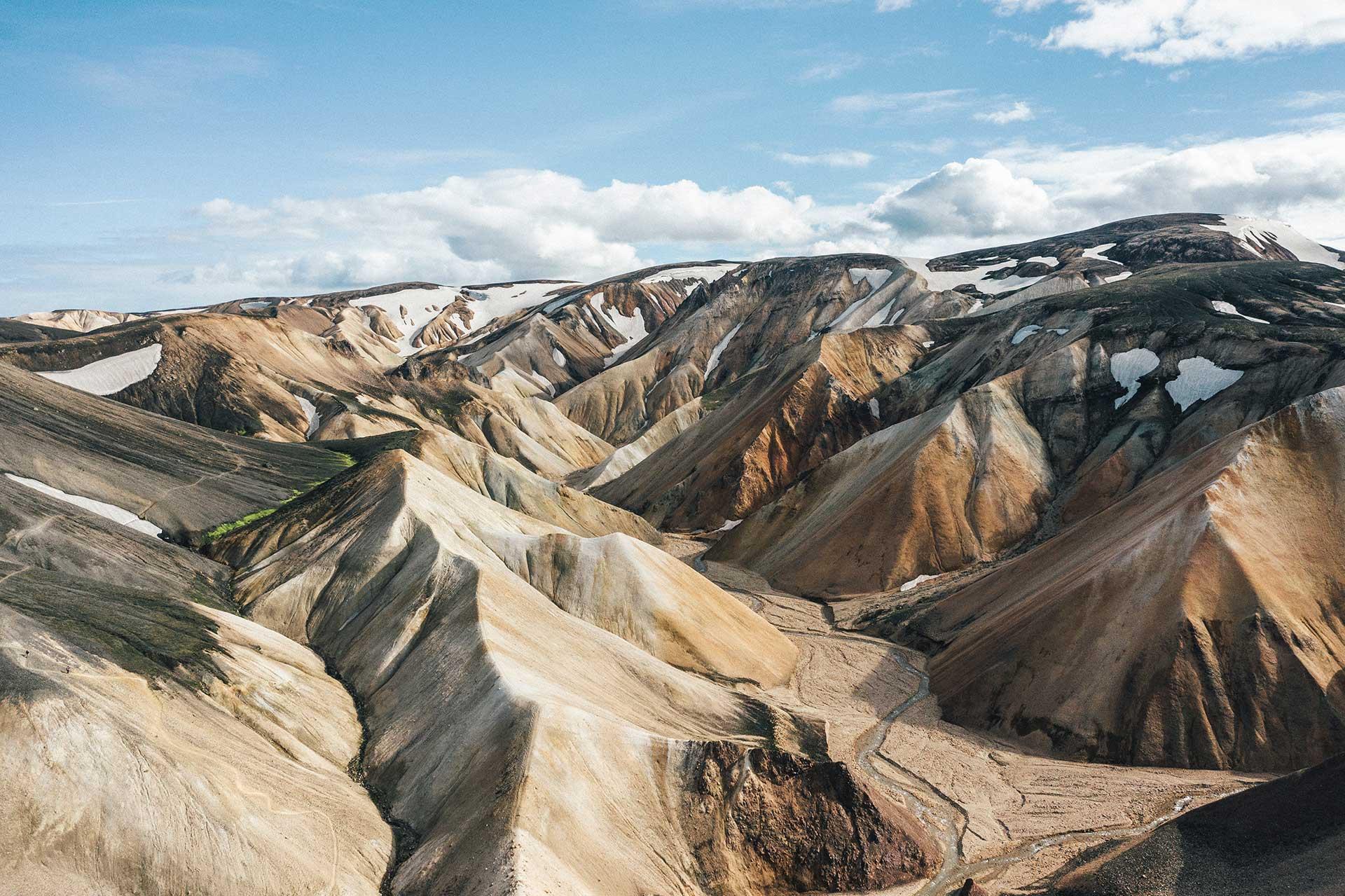 Landmannalaugar Wandern Outdoor Island Fotograf Produktion Michael Müller