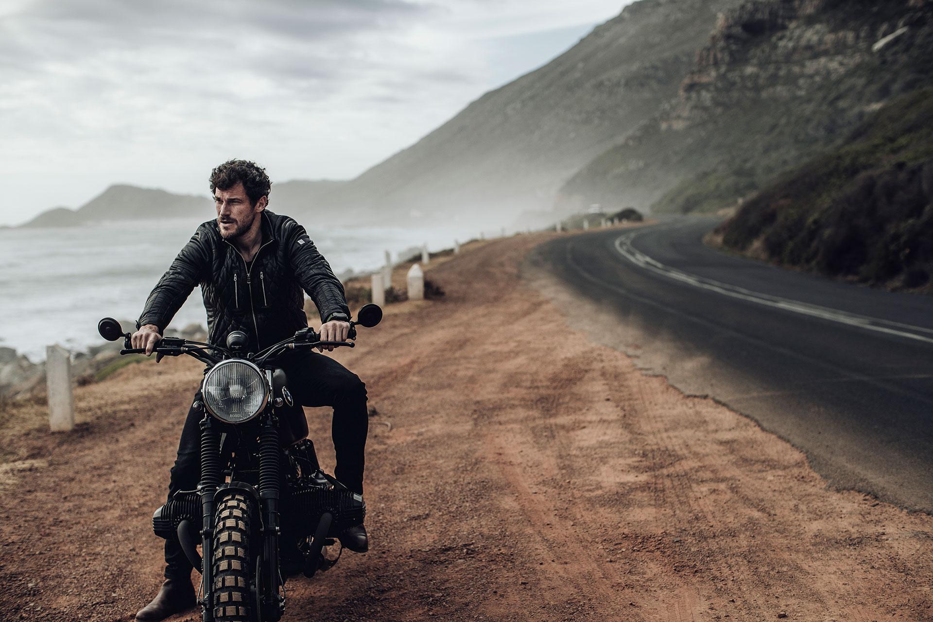 Biker Motorrad Fotograf Automotive Landscape Lifestyle Produktion Italien Rom