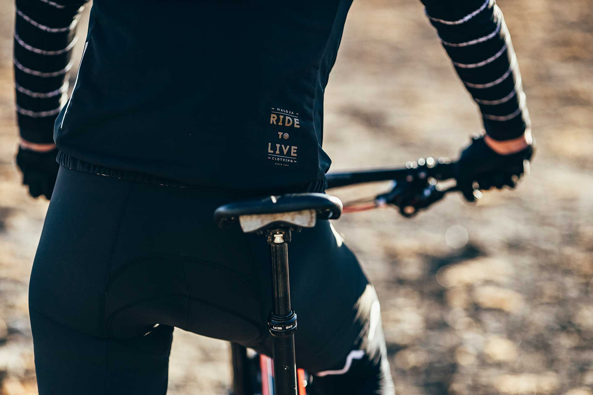 Maloja Funktionsbekleidung Fotograf Detail Mountainbike Sport London