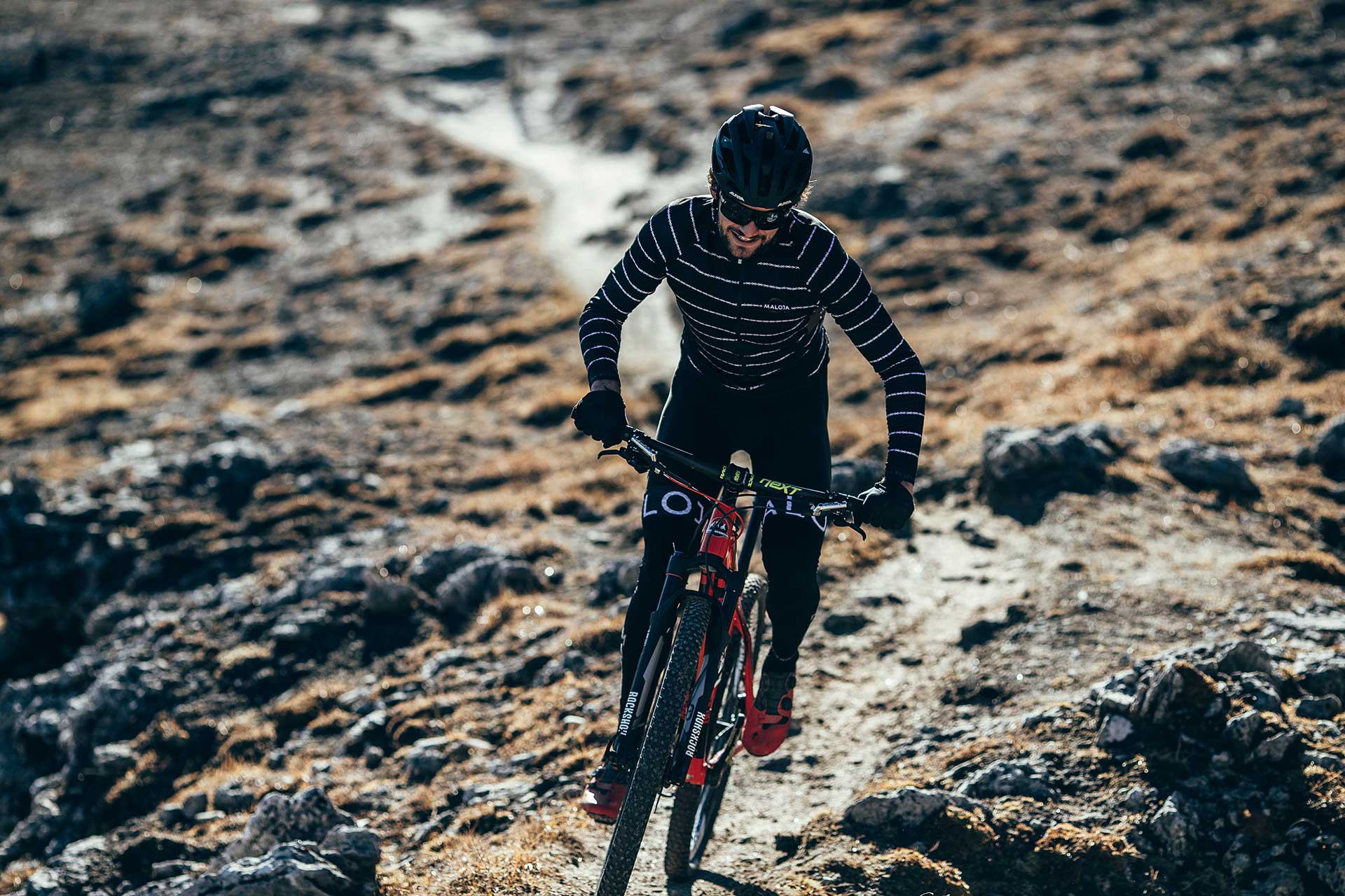 Singletrack Biker Fotograf Aktion Sport London