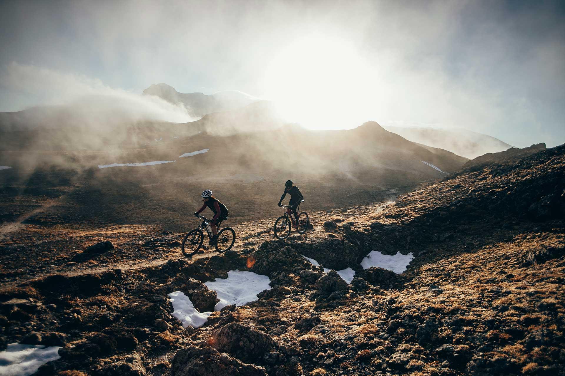 Porträt Fotograf Norwegen Biker Fahrradbekleidung Maloja Lifestyle