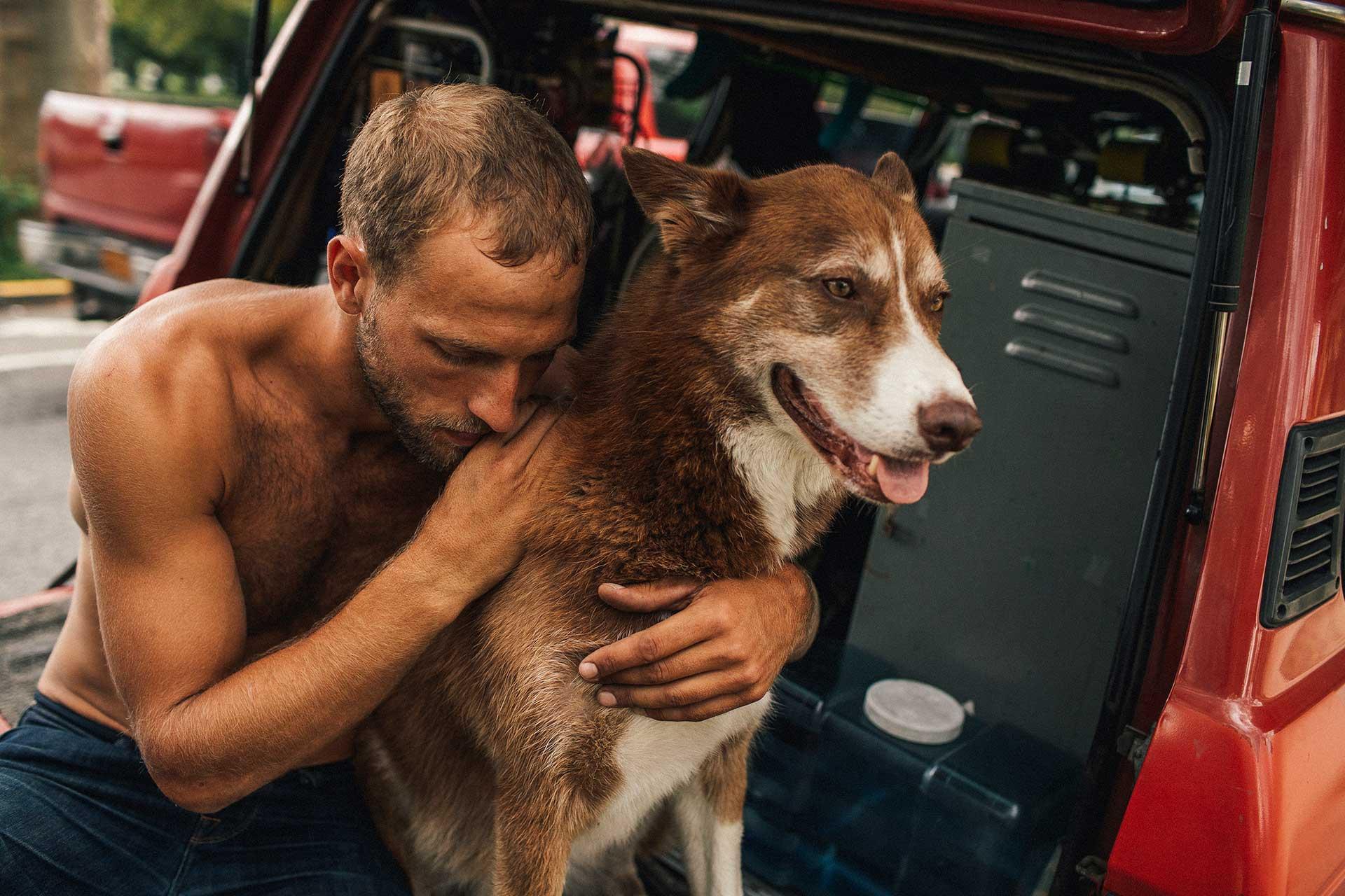 Hund Van Landcruiser People Fotograf Michael Müller
