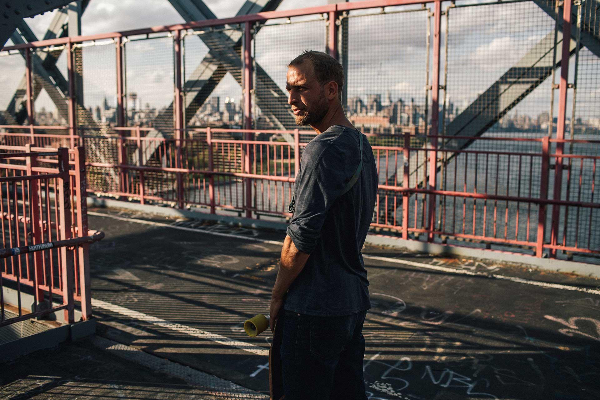 New York Brücke Porträt People Fotograf Michael Müller