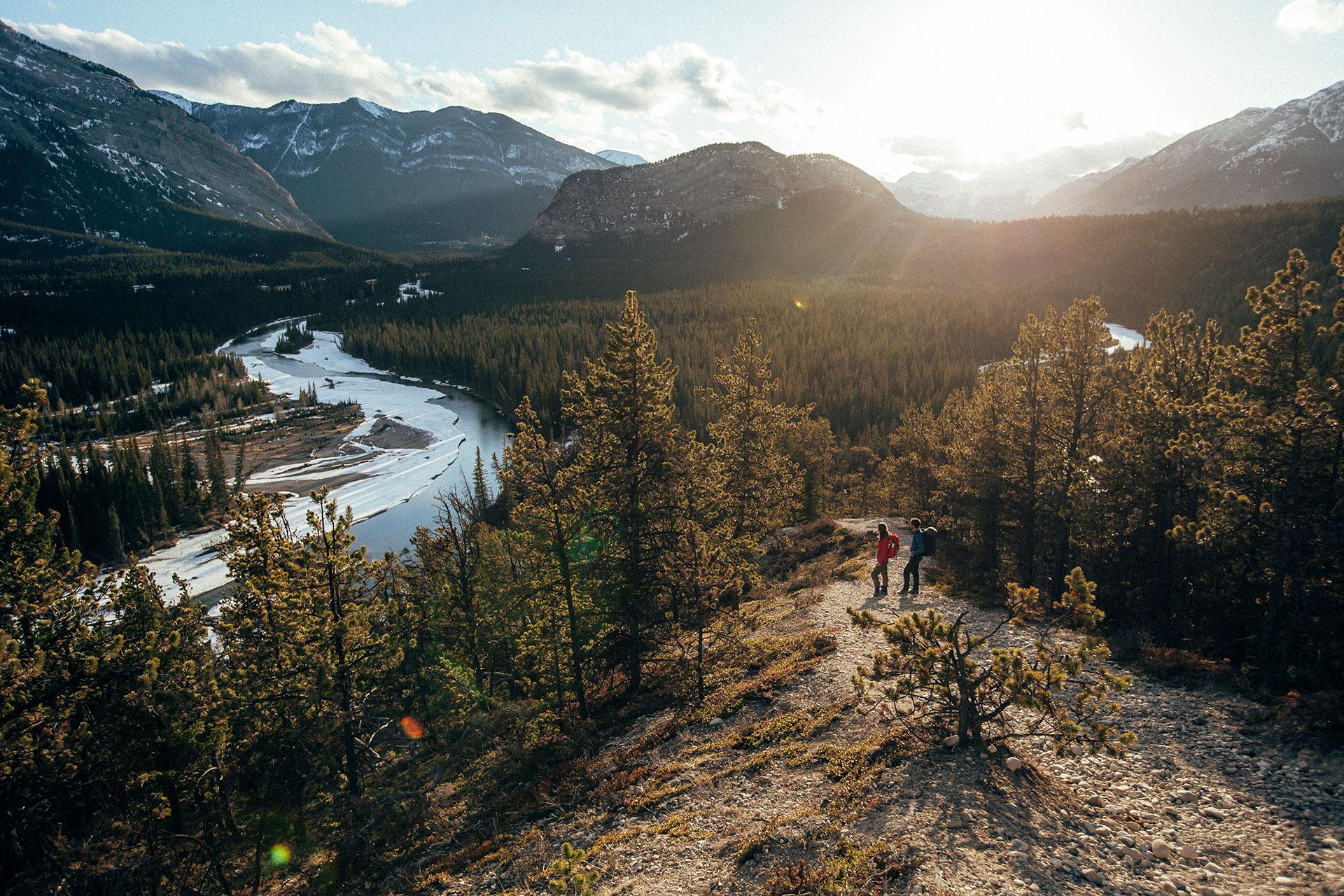 outdoor wandern fotografie banff fluss rocky mountains kanada deutschland berlin