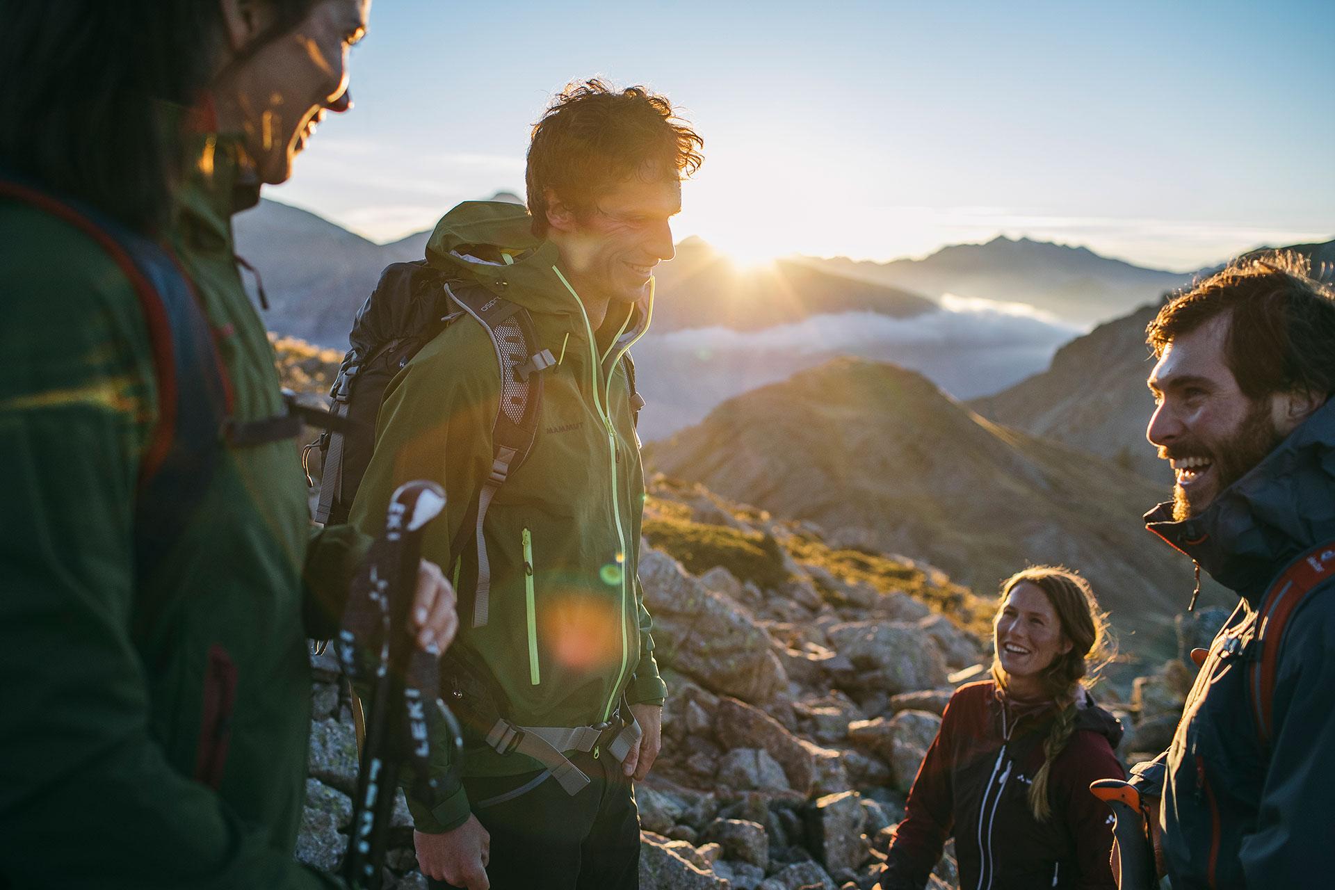 Katalog Fotoproduktion Nürnberg Deutschland Bergsport Trekking Wandern Outdoor