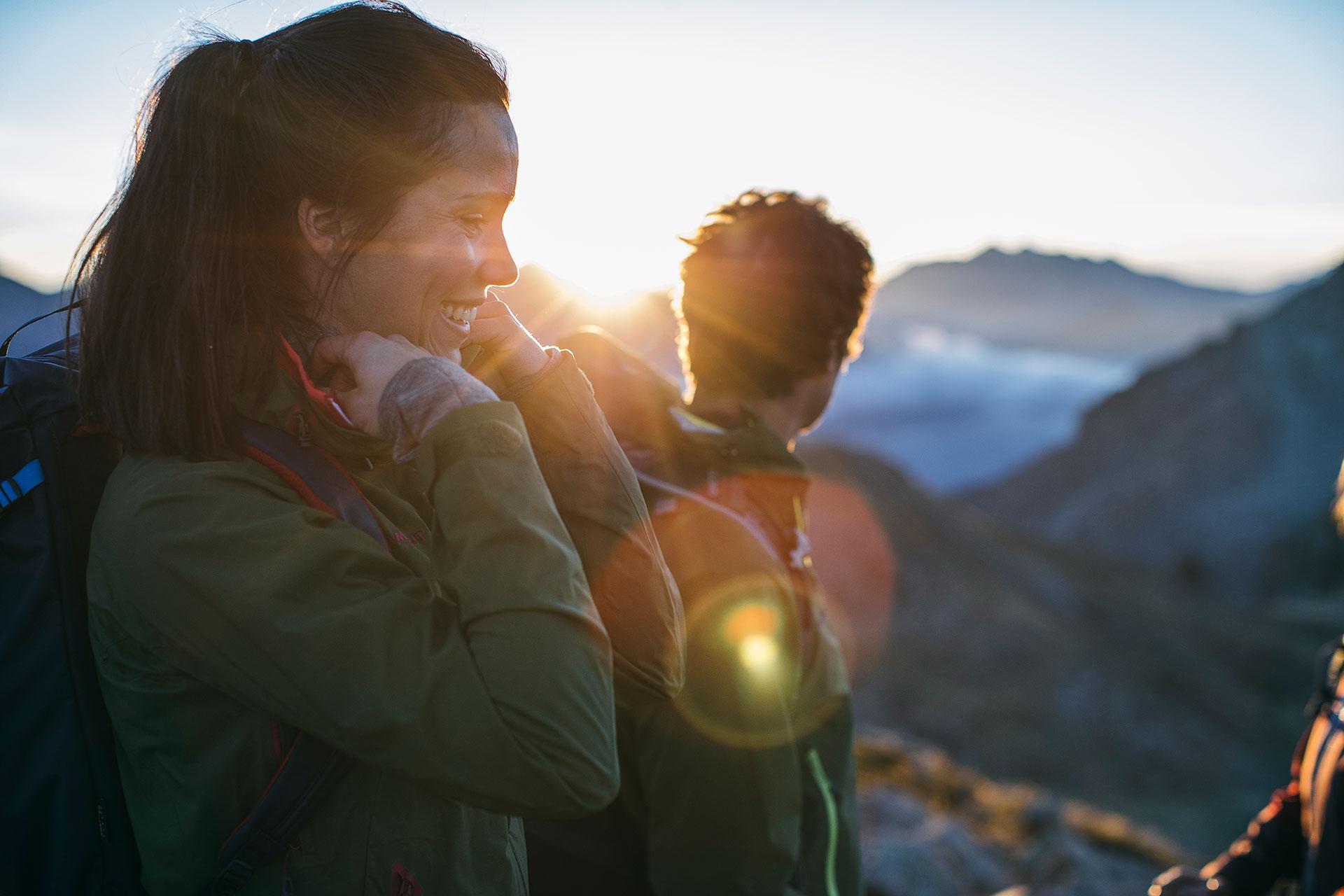 Bergsport Trekking Fotografie Wandern Outdoor Katalog Fotoproduktion London England