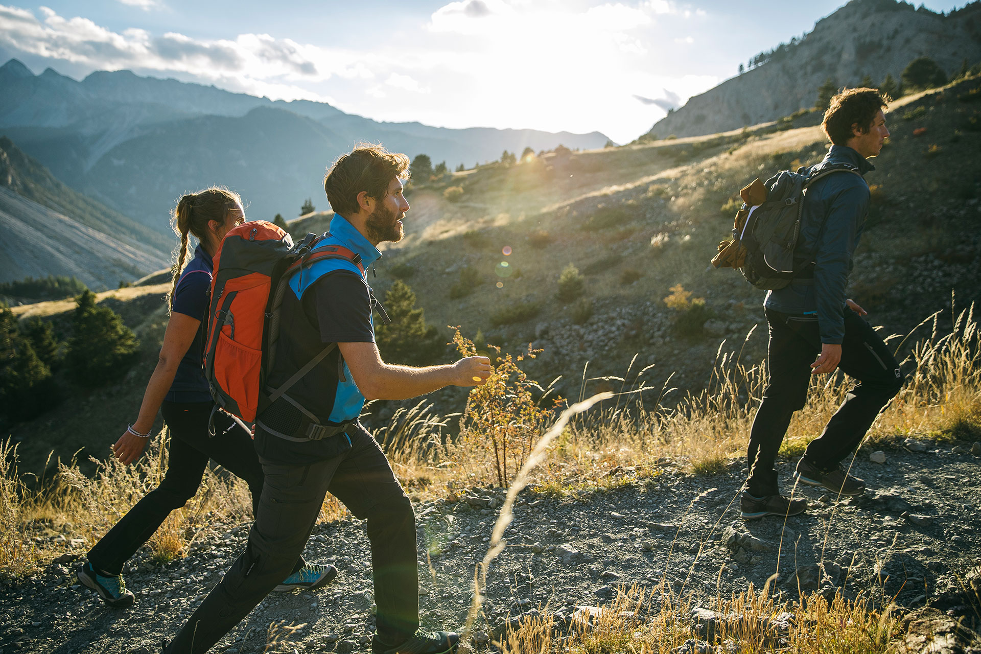 Paris Frankreich Wandern Outdoor Fotograf Sport Fitness Trekking Katalog Fotoproduktion