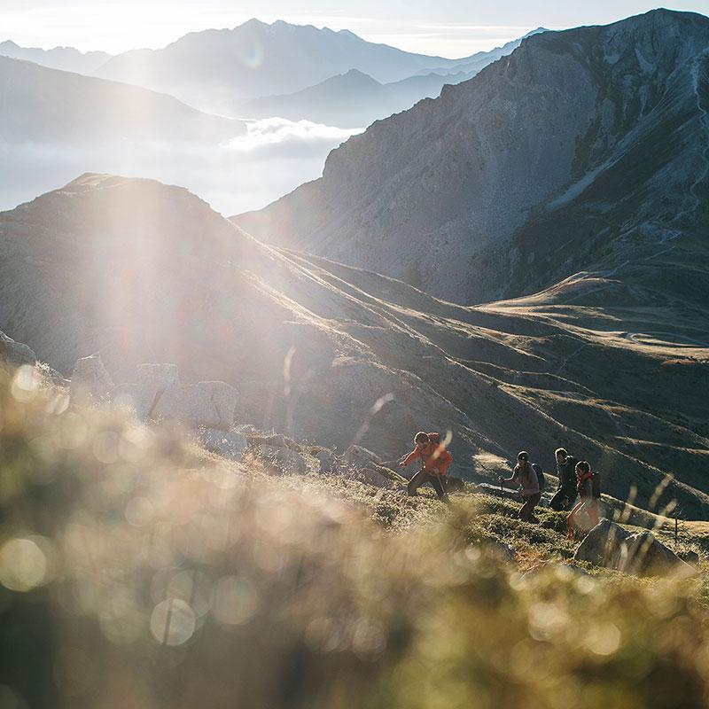 Trekking Wandern Outdoor Sonnenaufgang Sport Scheck Katalog Schweiz Zürich Fotograf