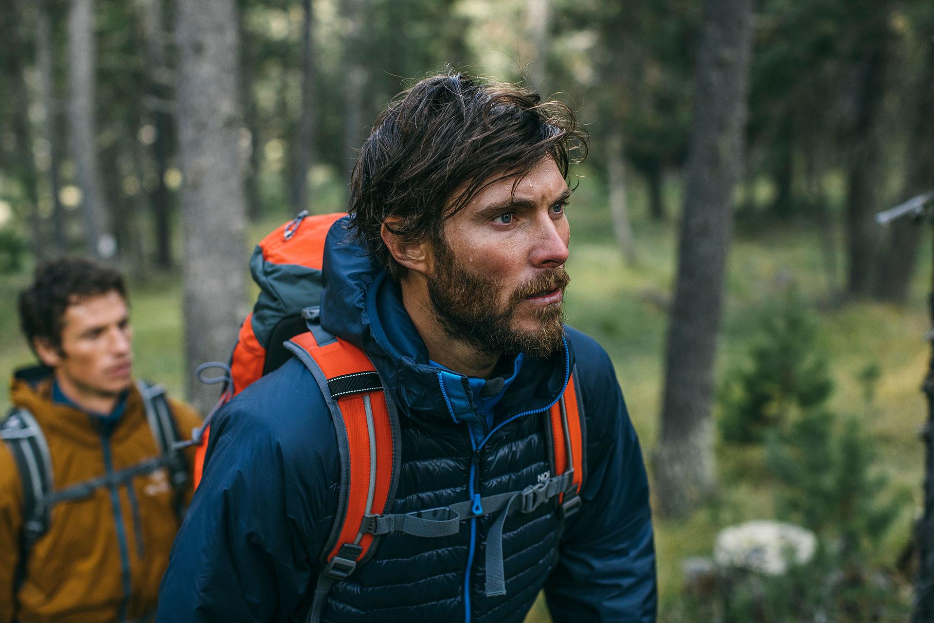 Portrait Outdoor Bekleidung Wandern Trekking Sport Katalog Micheal Müller Fotograf München