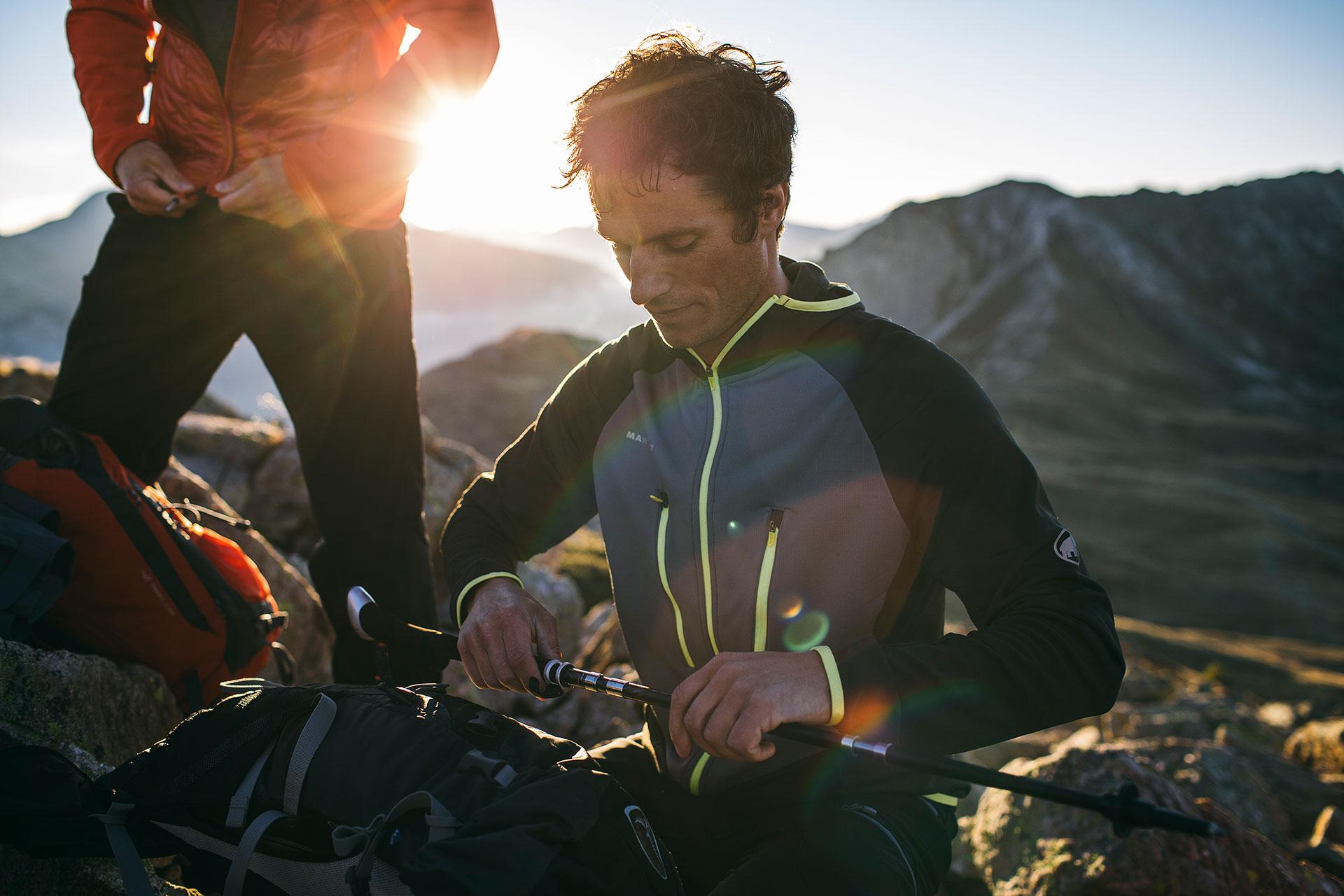 Berge Gipfel Landschaft Hiking Trekking Sport Scheck Fotograf London England