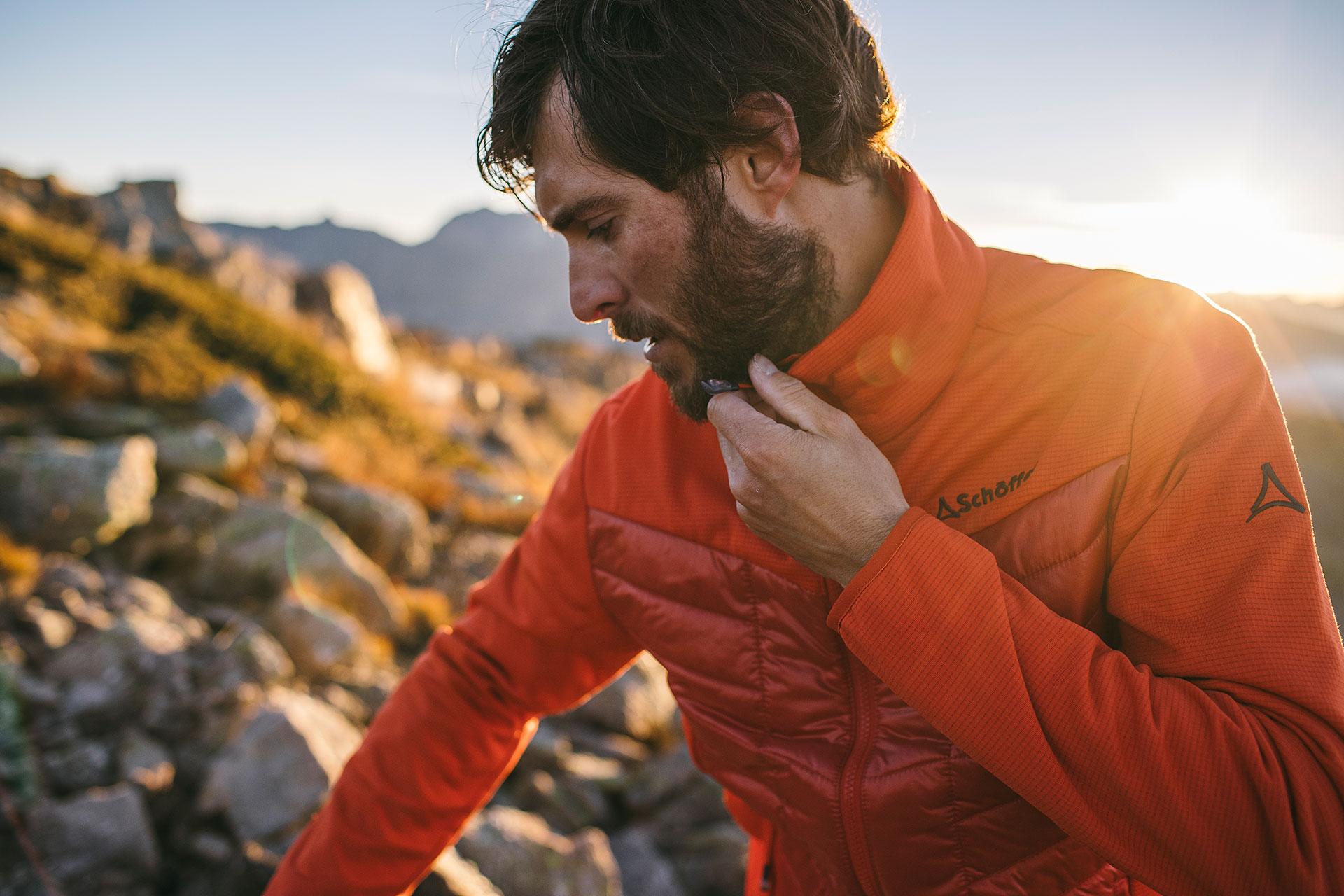 Bergsport Wandern Klettern Sportklamotten Bekleidung London England Fotograf