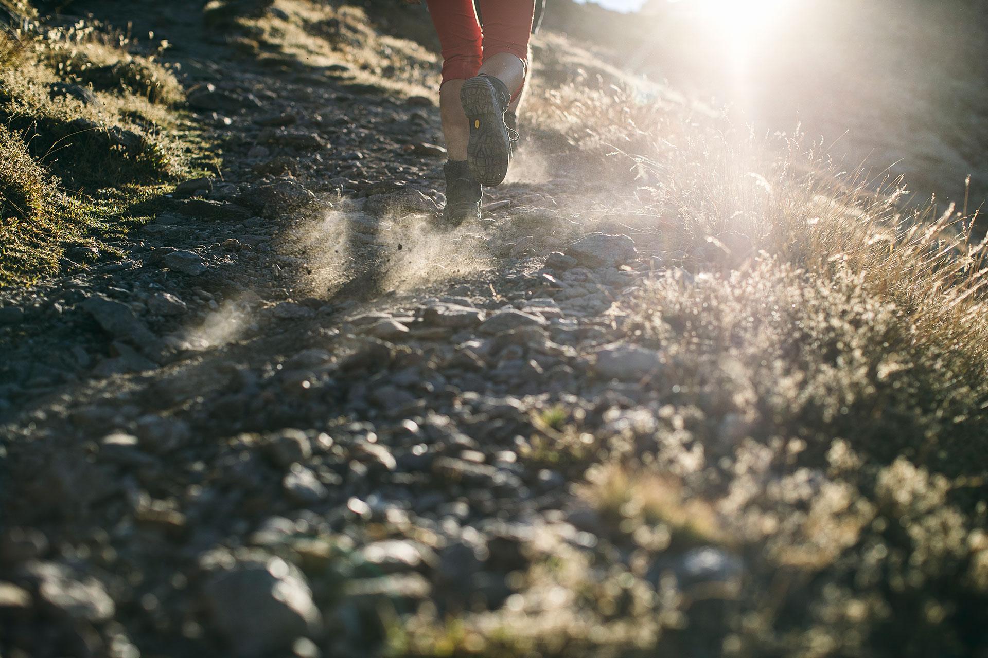 Gegenlicht Berge Sport Trekking Fotograf Deutschland München Italien