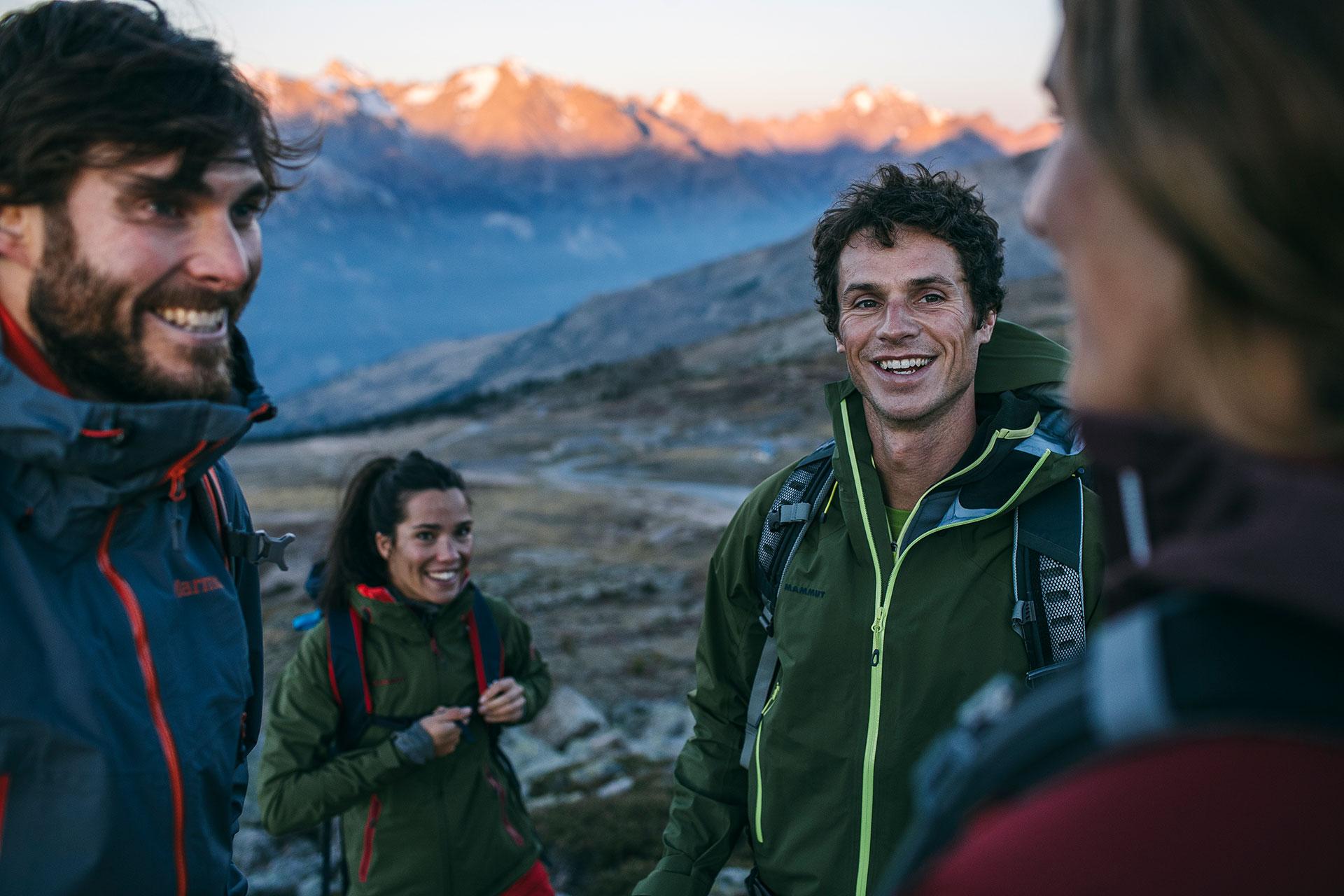Berge Landschaft Wandern Trekking Sport Outdoor Fotograf Michael Müller Katalog München