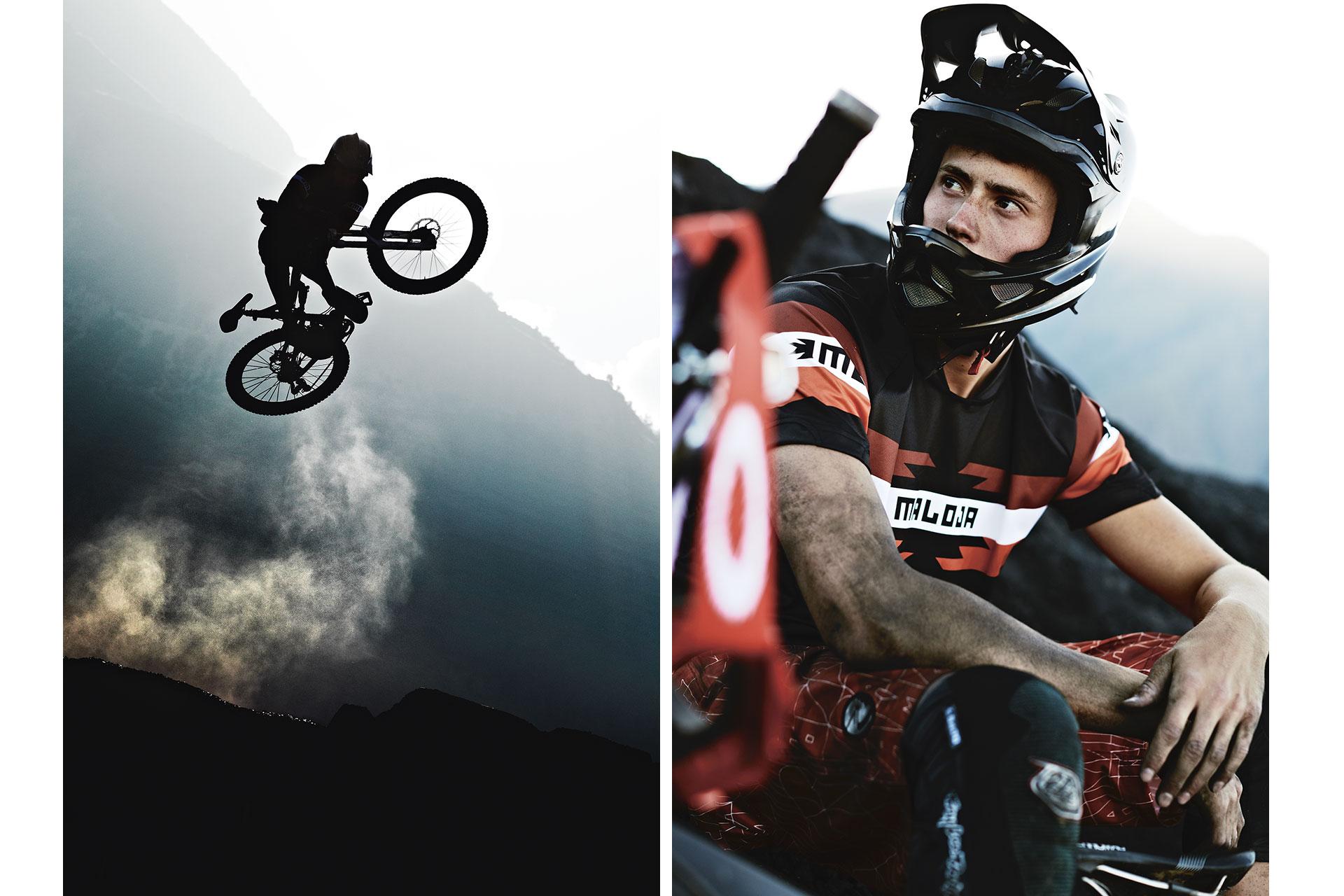 Freeride Mountainbike Sport Aktion Fotograf Sprung Peru Downhill Michael Müller