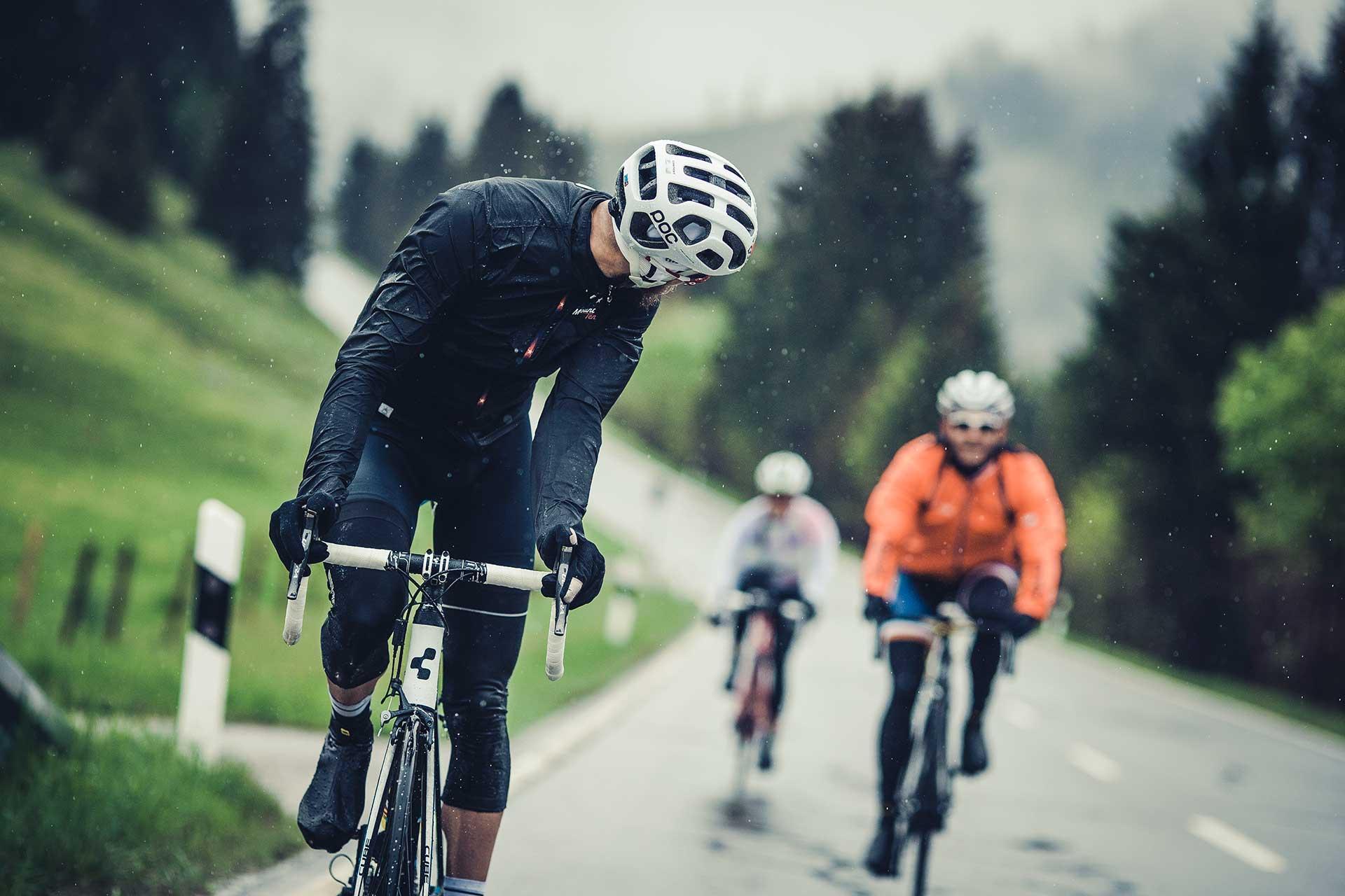 Teamsport Regen Rennrad Tour Maloja Bekleidung Fotograf Stuttgart
