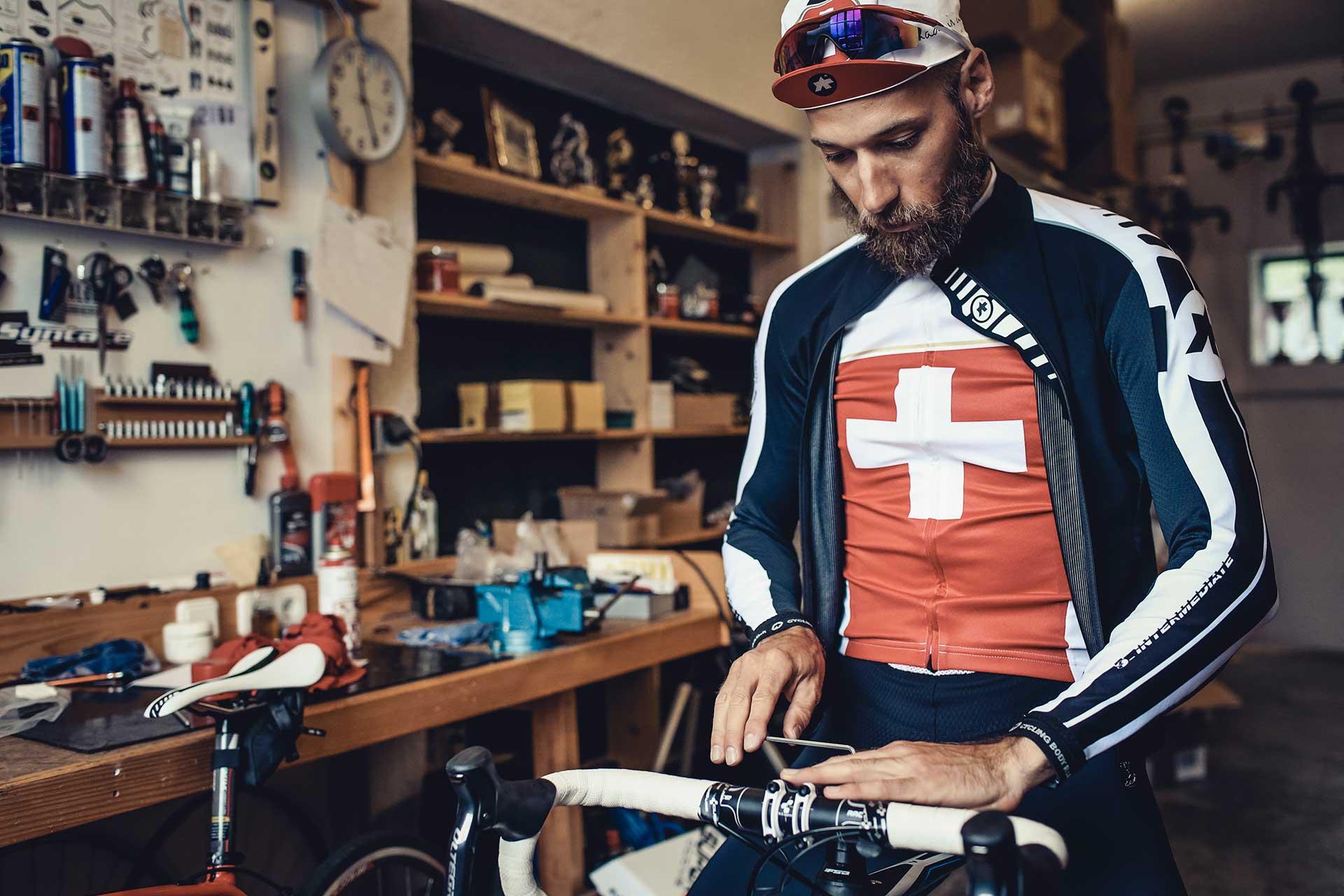Werkstatt Fahrrad Rennrad Fotograf Sport Outdoor Lifestyle München