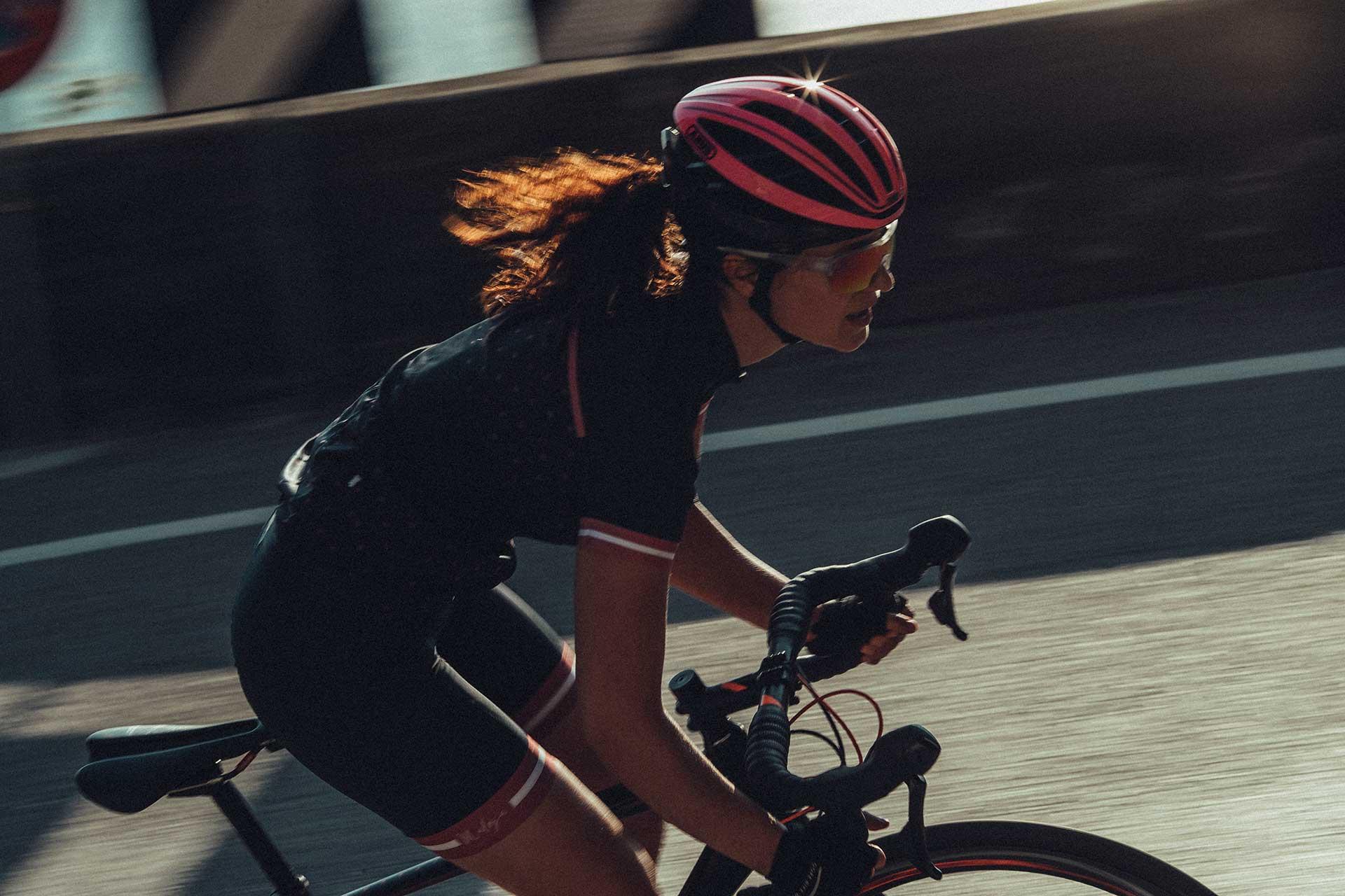 Sportfotograf Rennrad Abus Fahrrad Helm Berge Gardasee Hamburg Micherl Müller