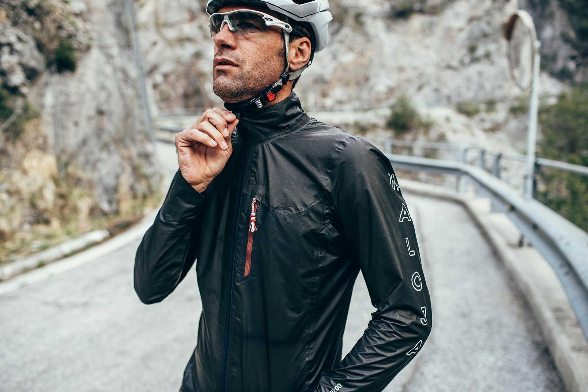 Funktionsbekleidung Fotograf Rennrad Sport Alpen Berge Outdoor Italien
