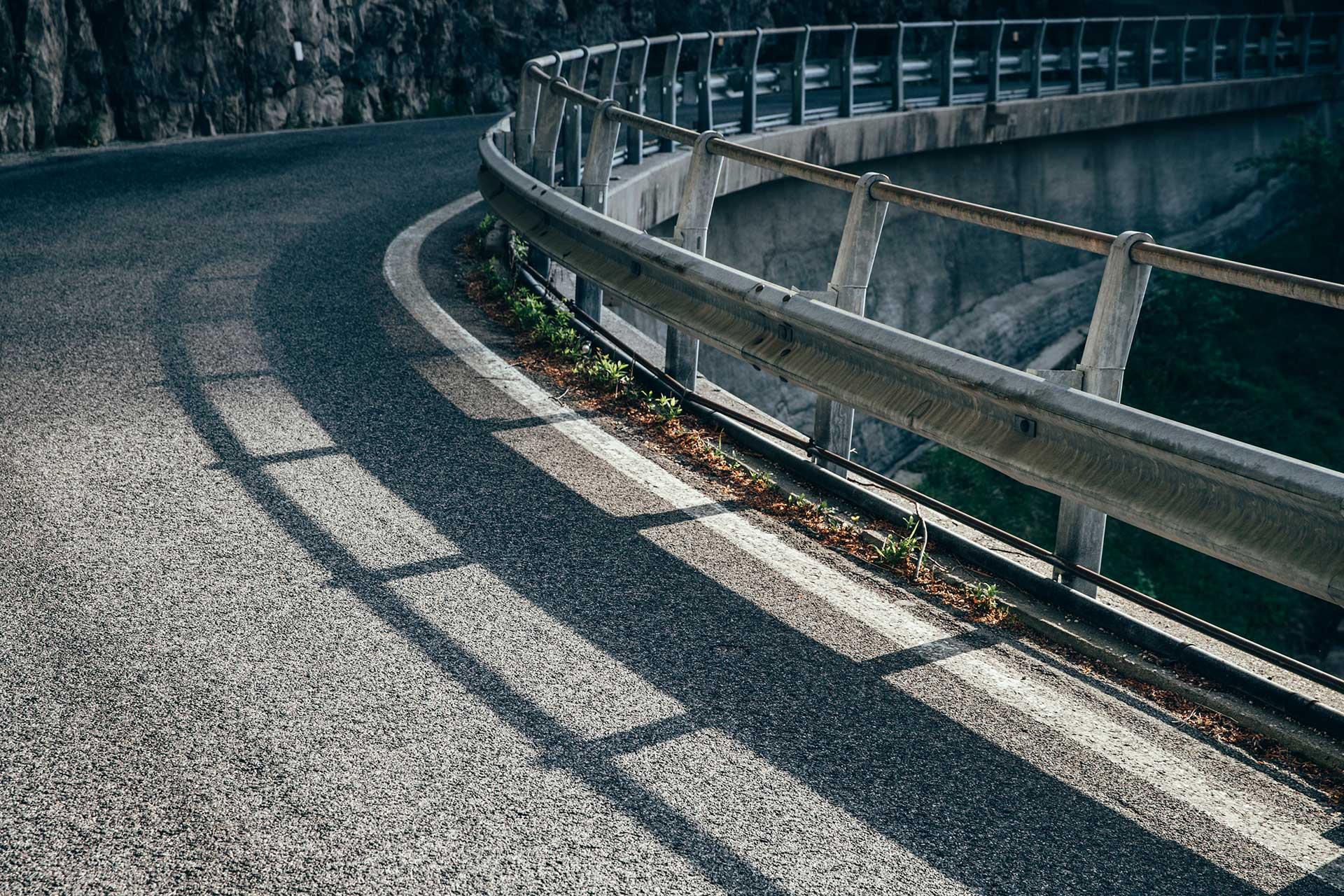 Passo San Boldo Serpentinen Fotograf Italien Alpen Michael Müller Kurve
