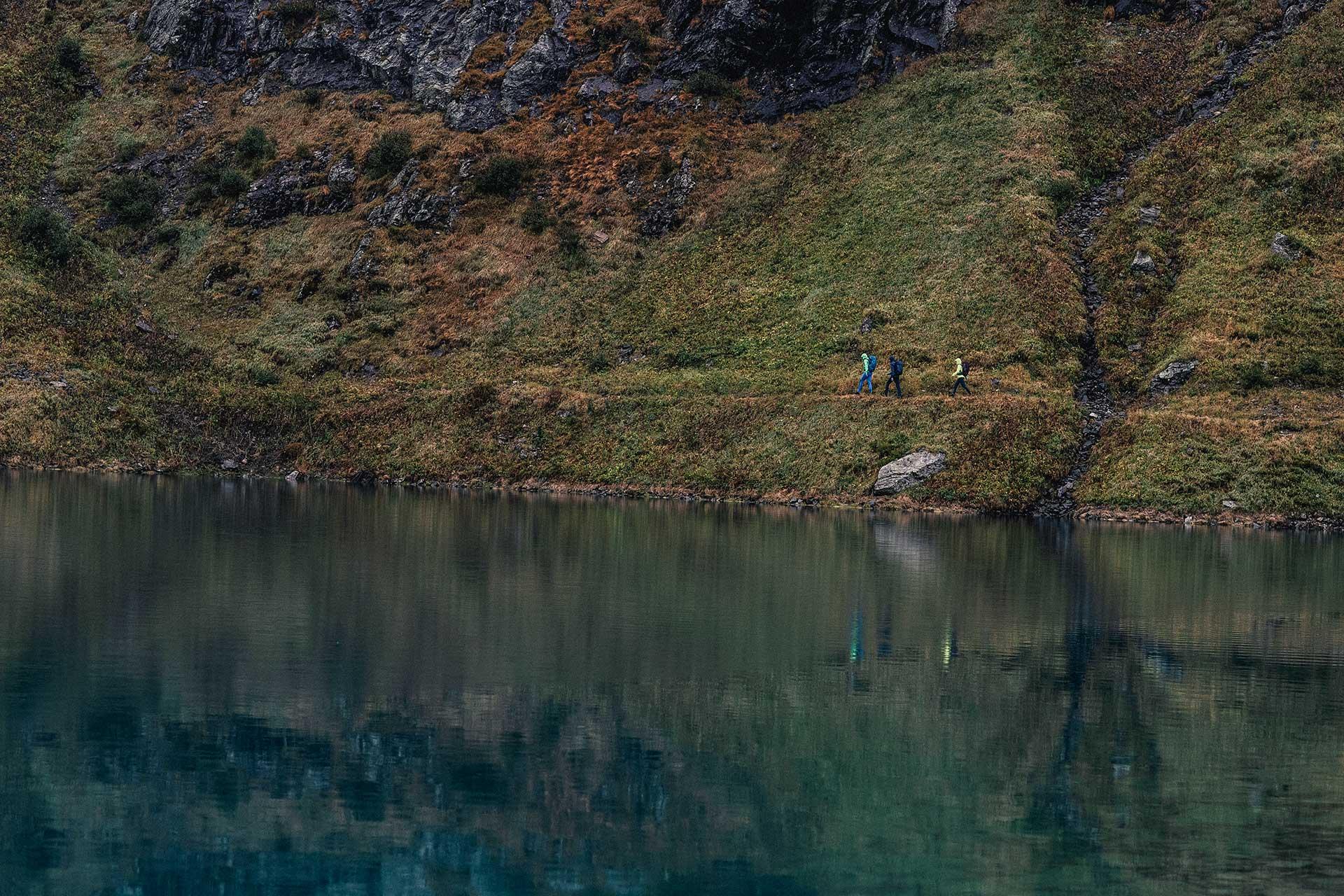 Fotograf Landschaft Wandern Berge Sport See Regen Michael Müller