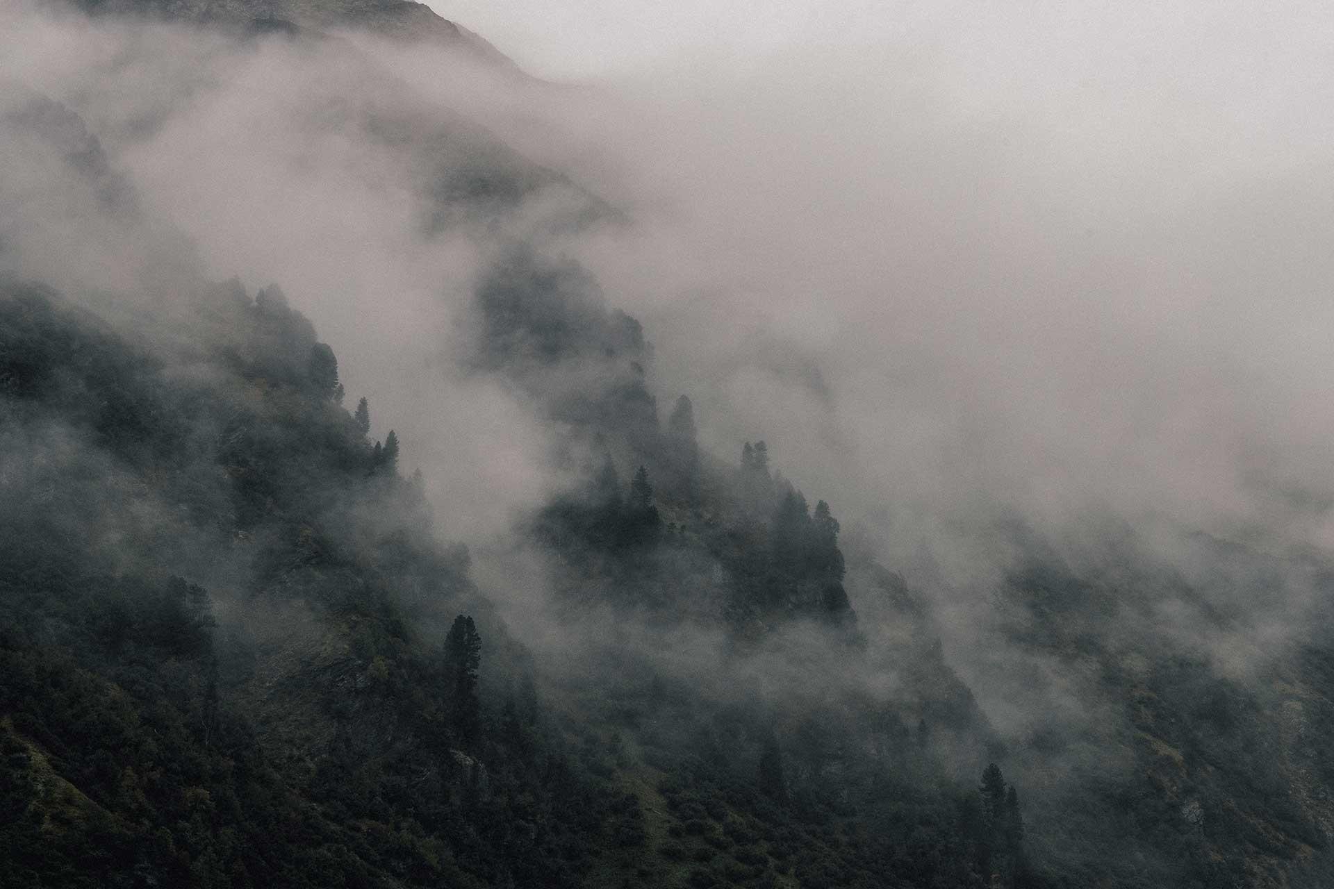 Fotografie Landschaft Outdoor Panorama Bergsport Nebel Schöffel Schweiz