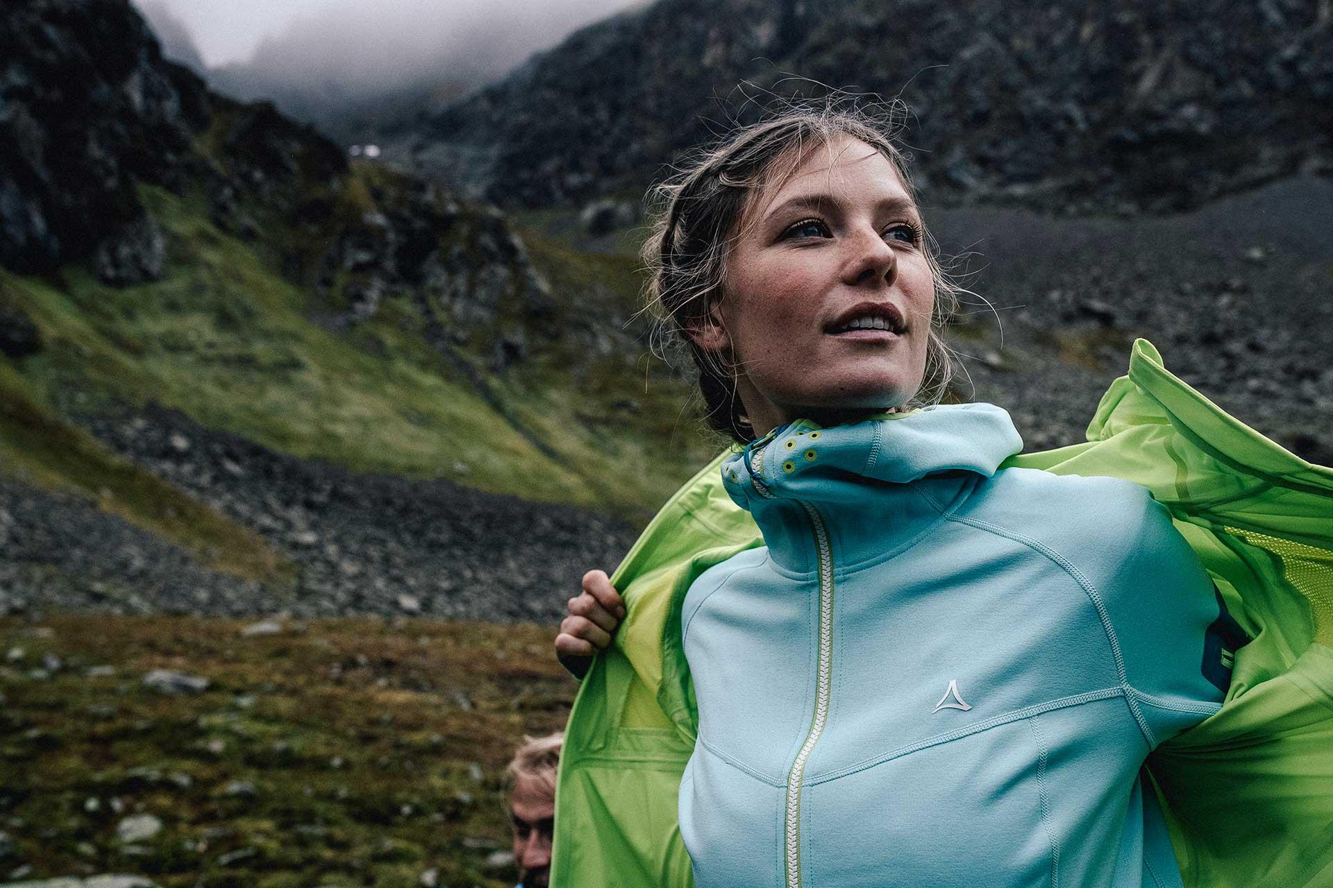 Outdoor Sport Fotograf Portrait Bergsport Fitness Bekleidung Arlberg