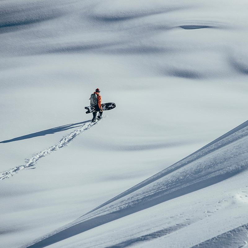 Outdoor Schnee Winter Fotograf Fotoproduktion im Schnee