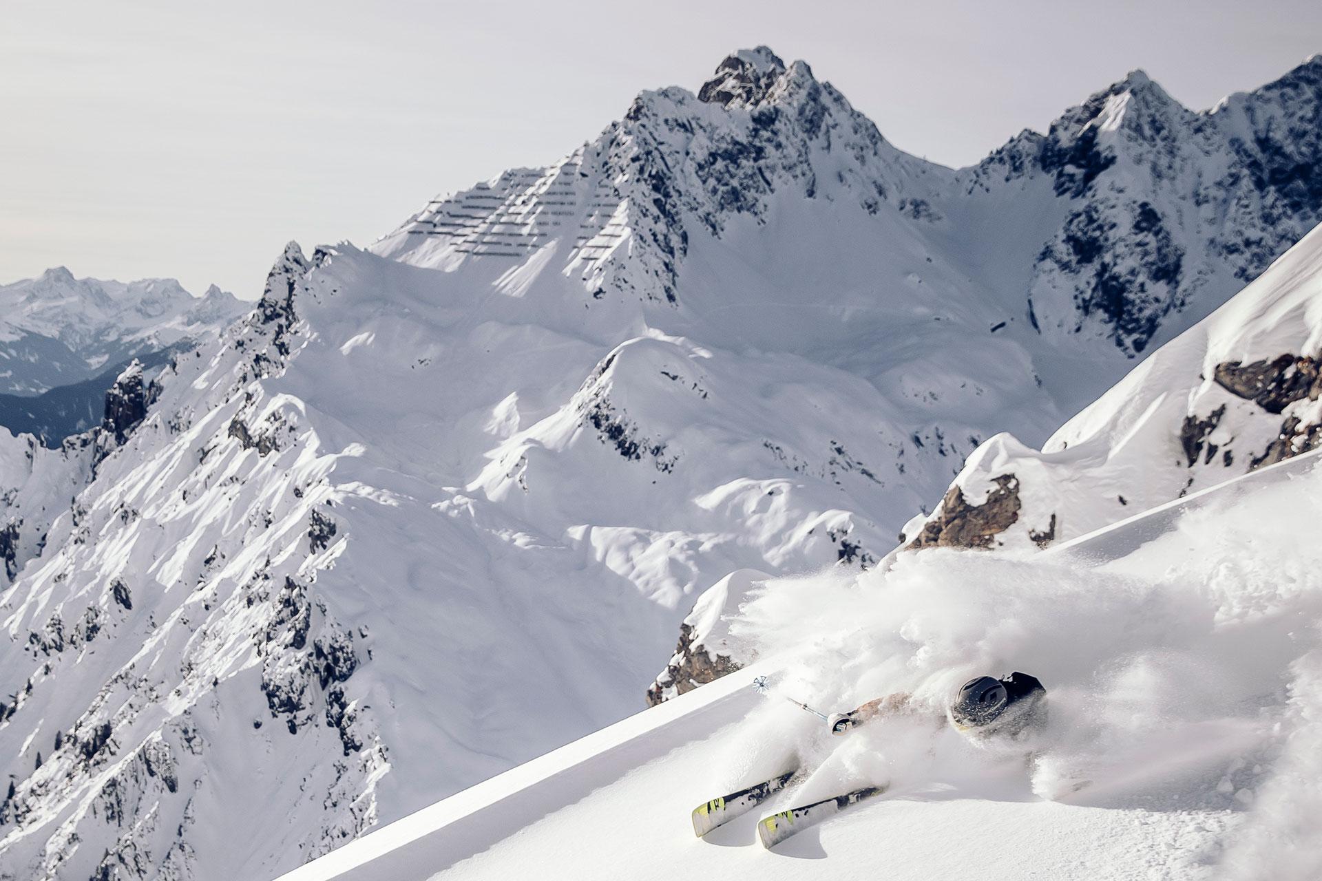 Landschaft Winter Schnee Tirol Berge Alpen Tiefschnee Freeride Fotograf München Deutschland