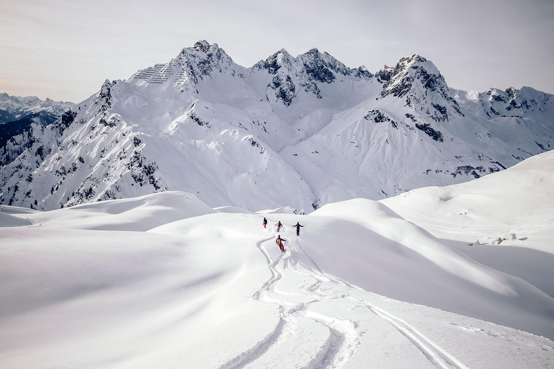 Ski Freeride Fotograf Powder Tiefschnee Deutschland Berlin Snowboard Tour Alpen