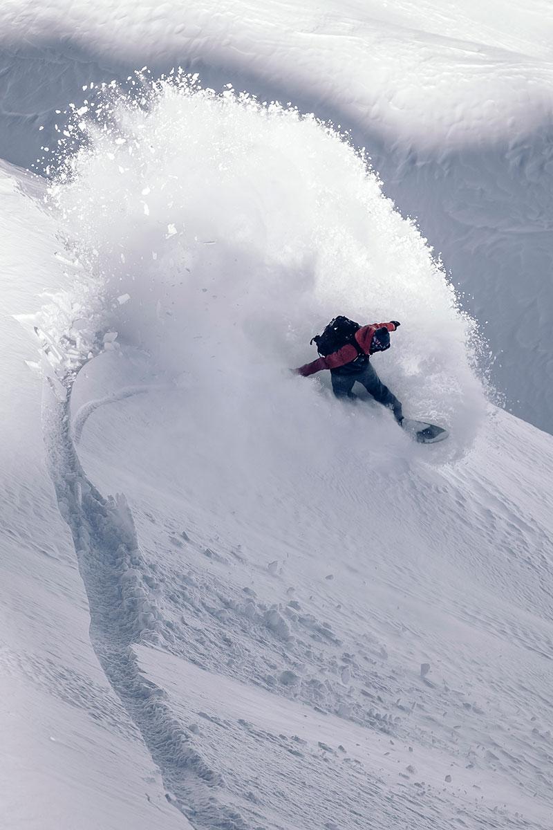 Outdoor Winter Schnee Powder Ski Snowboard Fotograf Michael Müller London