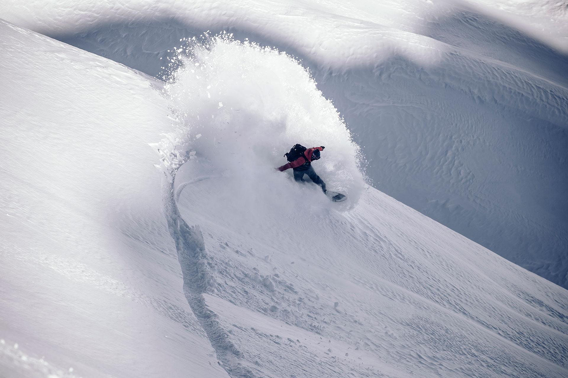 Snowboard Fotograf Ski Tiefschnee Powder Outdoor Sport Aktion Fitness Michael Müller Salzburg