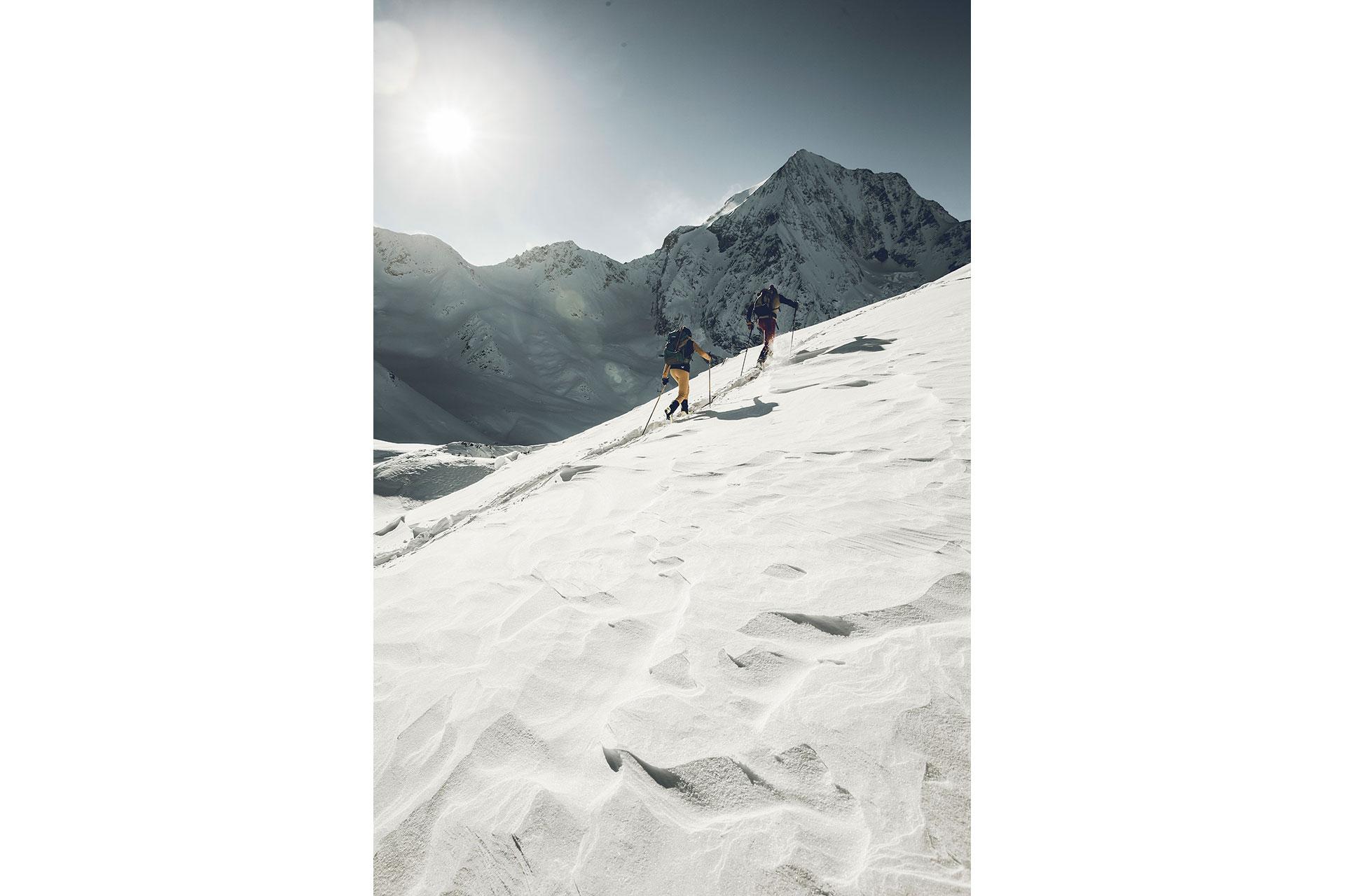 Winter Alpin Landschaft Fotoproduktion Skitour Fotograf Michael Müller London England