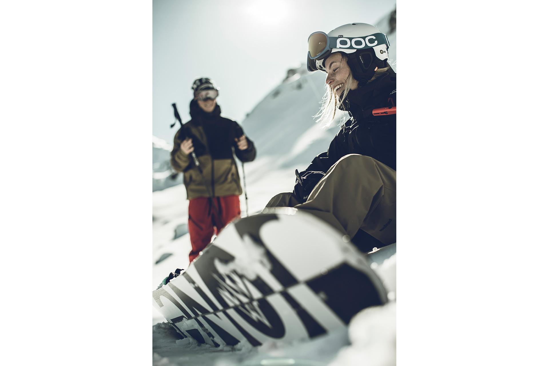 RedBull Magazin Fotograf Sport Produktion Winter Tiefschnee Frankfurt Deutschland