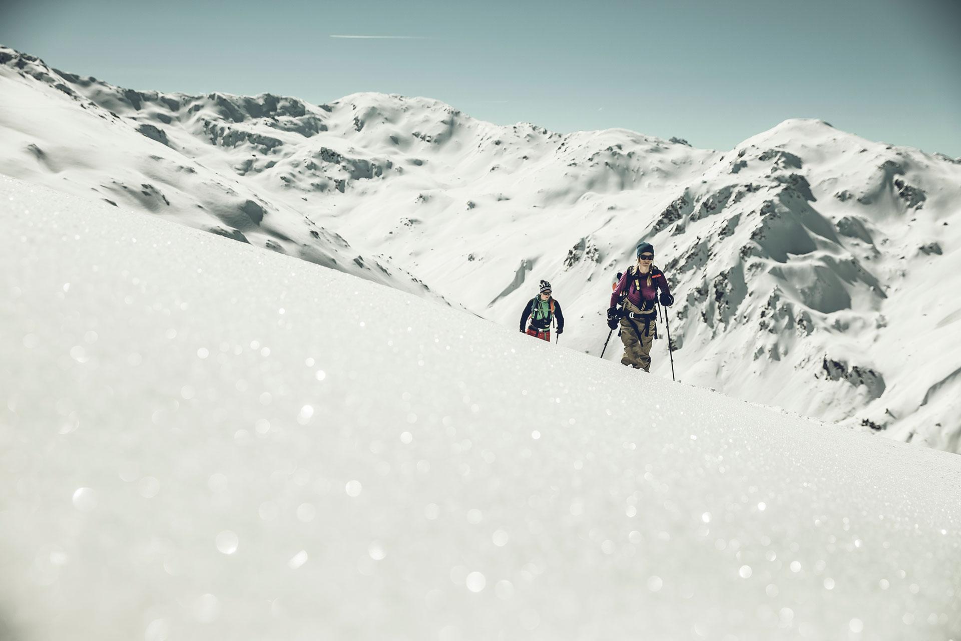 Fotograf Skitour Landschaft Winter Sport Tiefschnee Frankfurt Schnee Winter