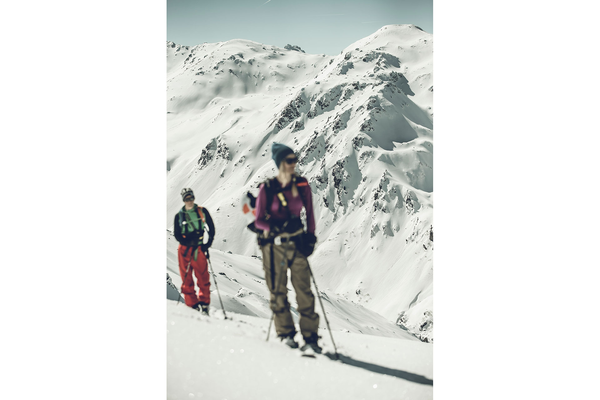 Winter Splitboard Tour Foto Produktion Sportfotograf Outdoor Tiefschnee London England