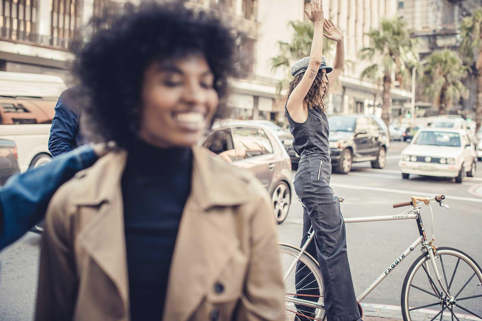 Lachen Freunde Lifestyle Fotoproduktion Michael Müller München Life