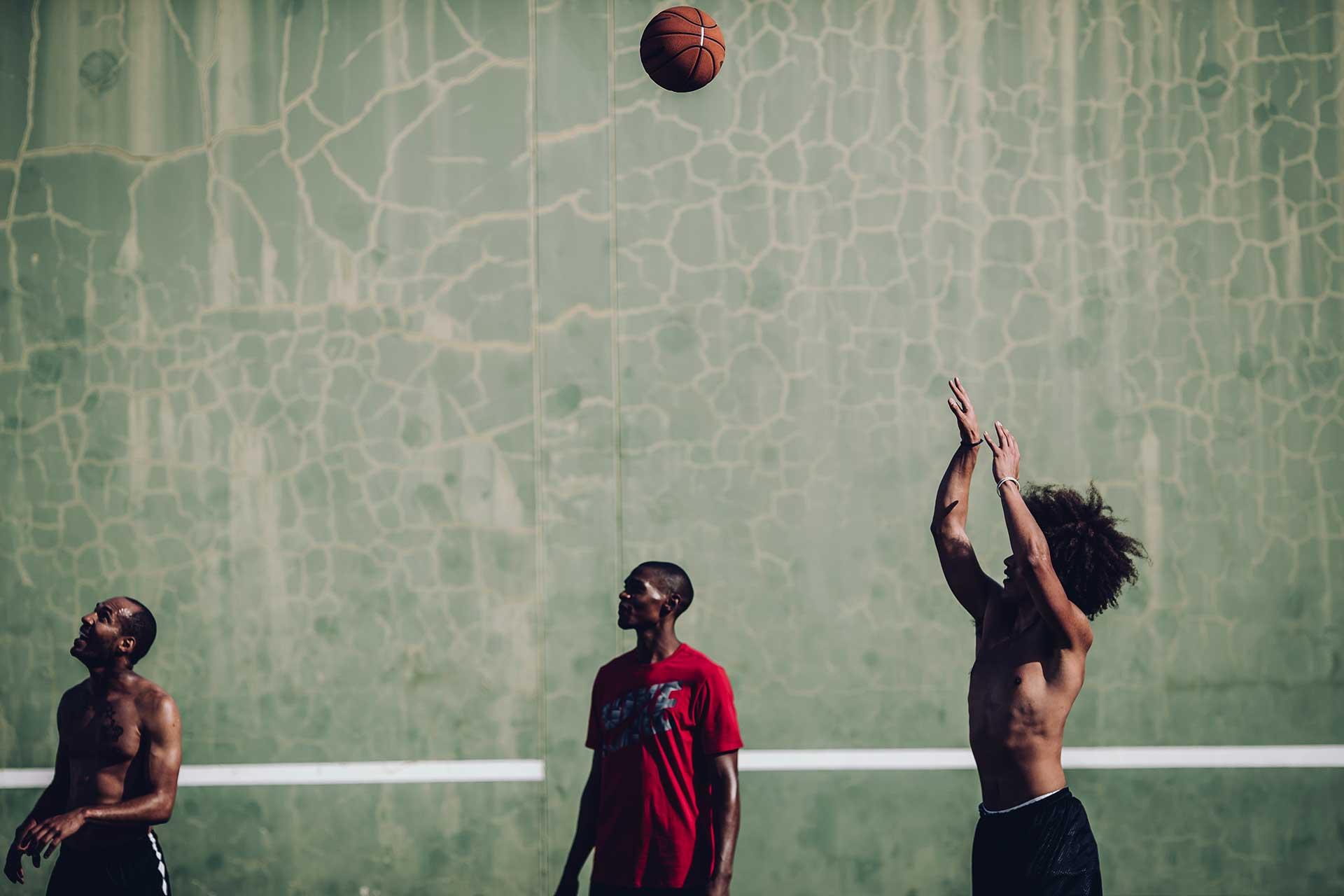 Basketball Sport Fotograf Training Michael Müller London