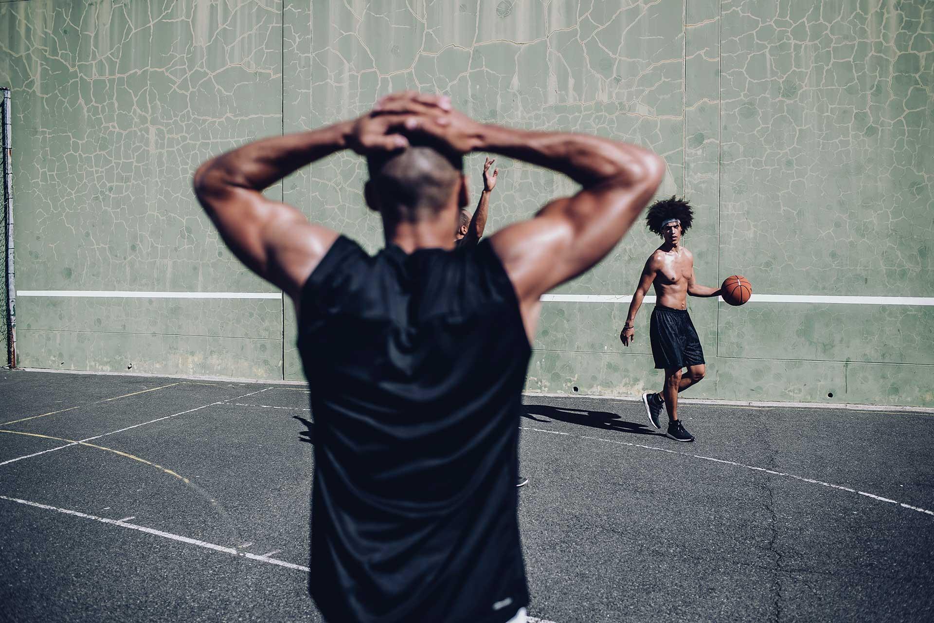Streetball Basketball Teamsport Training Fitness Fotograf Michael Müller