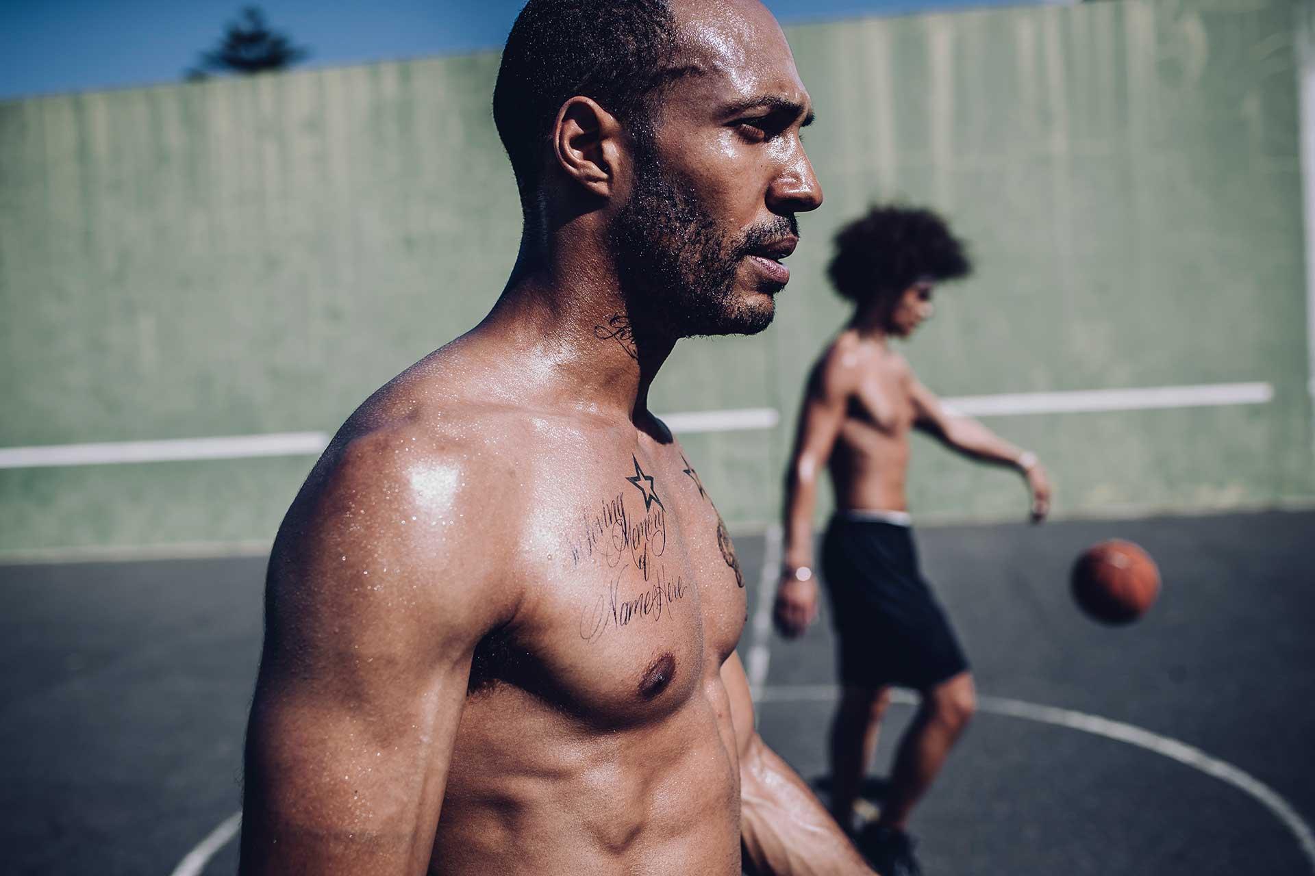 Tattoos Sport Training Teamsport Outdoor Fotograf Michael Müller